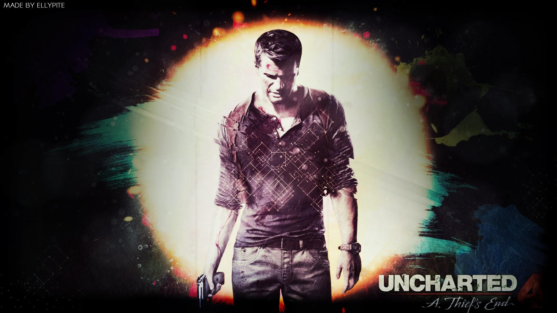 Uncharted 4 – A Thief's End Wallpaper [SpeedArt/Made by Ellypite] – YouTube