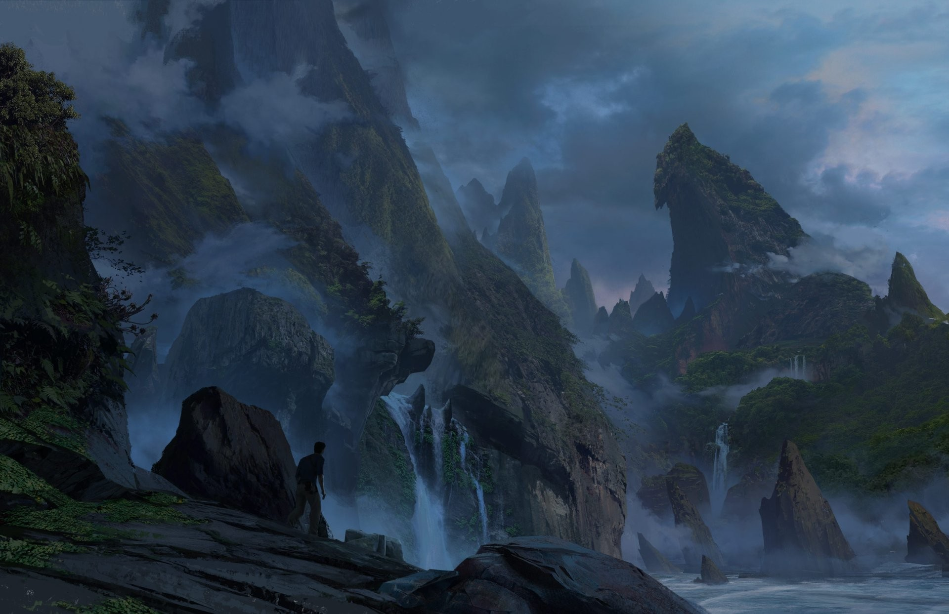 The Art of Uncharted 4 a Thief's End – Daily Art, Games