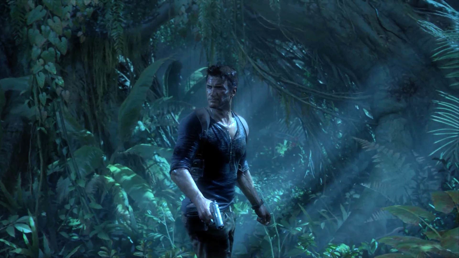 """Nathan """"Nate"""" Drake lost in the jungle – Uncharted 4: A Thief's End"""