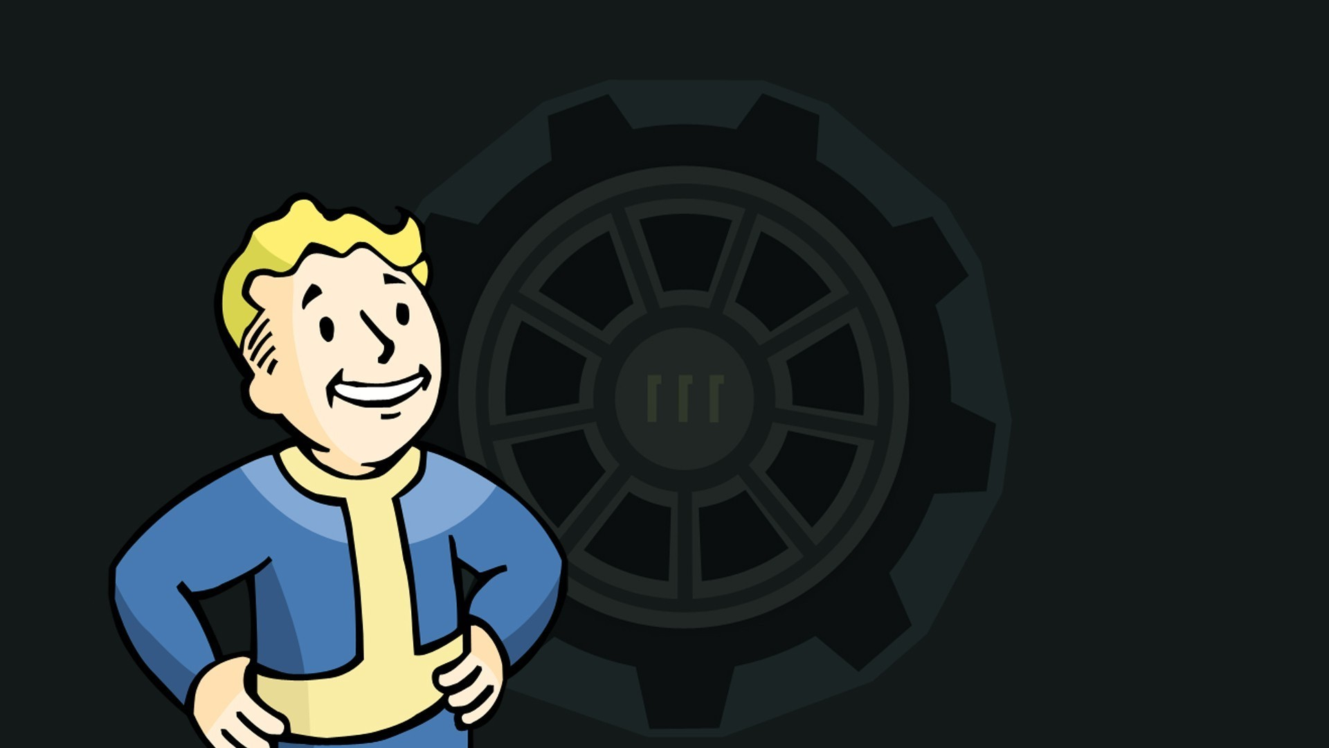 Fallout 4, Video Games, Vault 111, Vault Boy, Fallout, Bethesda Softworks,  Apocalyptic Wallpapers HD / Desktop and Mobile Backgrounds