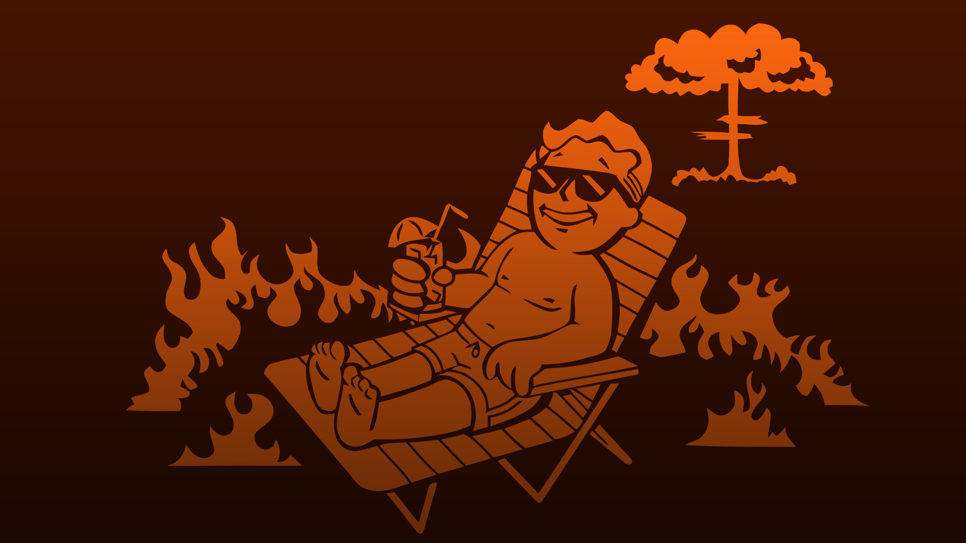 Fallout, Video Games, Deck Chairs, Vault Boy Wallpapers HD / Desktop and  Mobile Backgrounds
