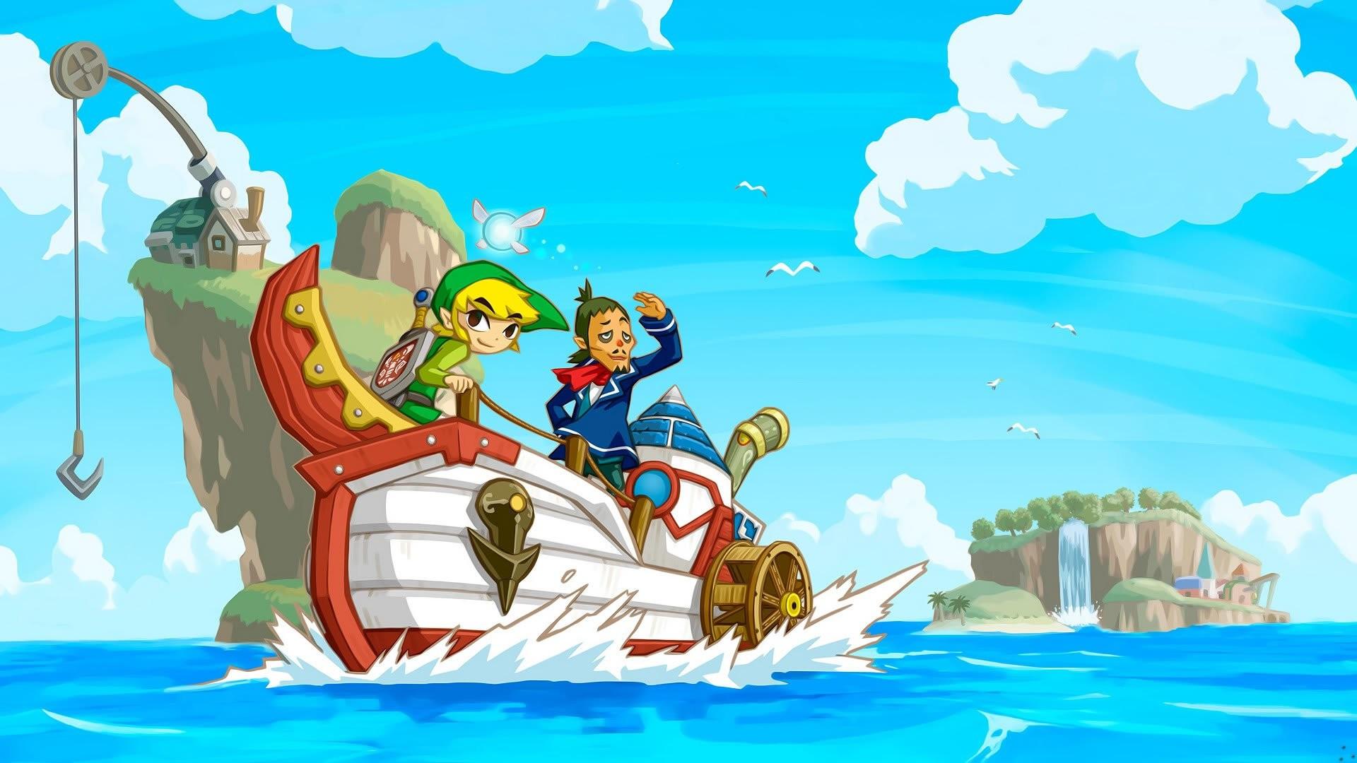 Legend Of Zelda Phantom Hourglass Poster