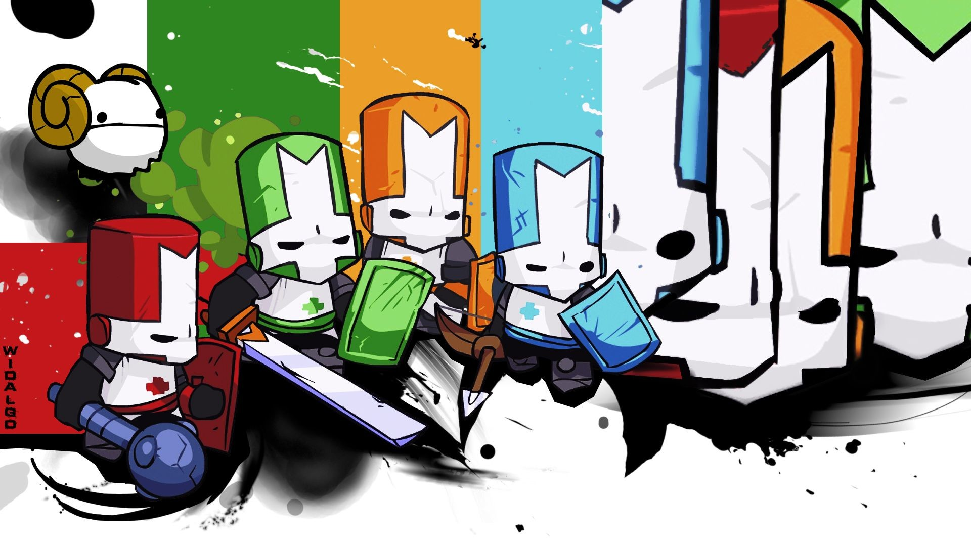 Castle Crashers Wallpapers – Wallpaper Cave