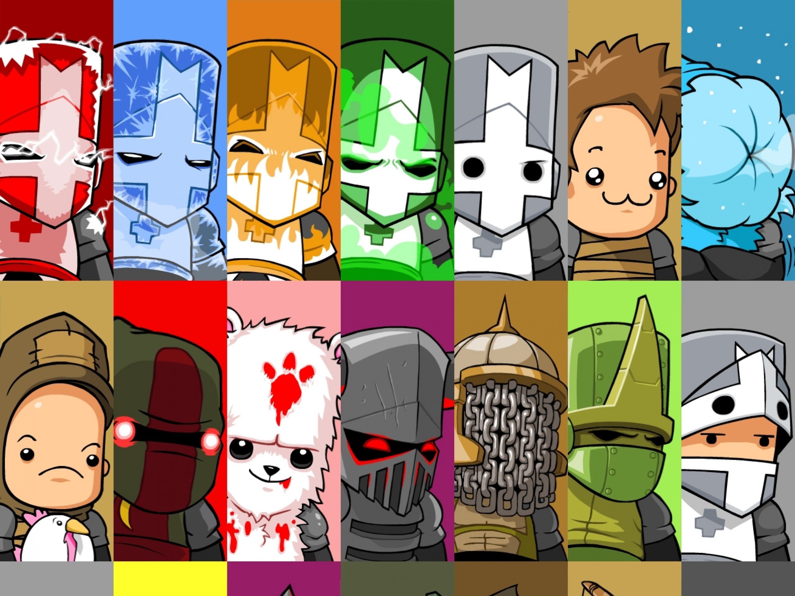 … castle crashers wallpapers gallery image mrfab …