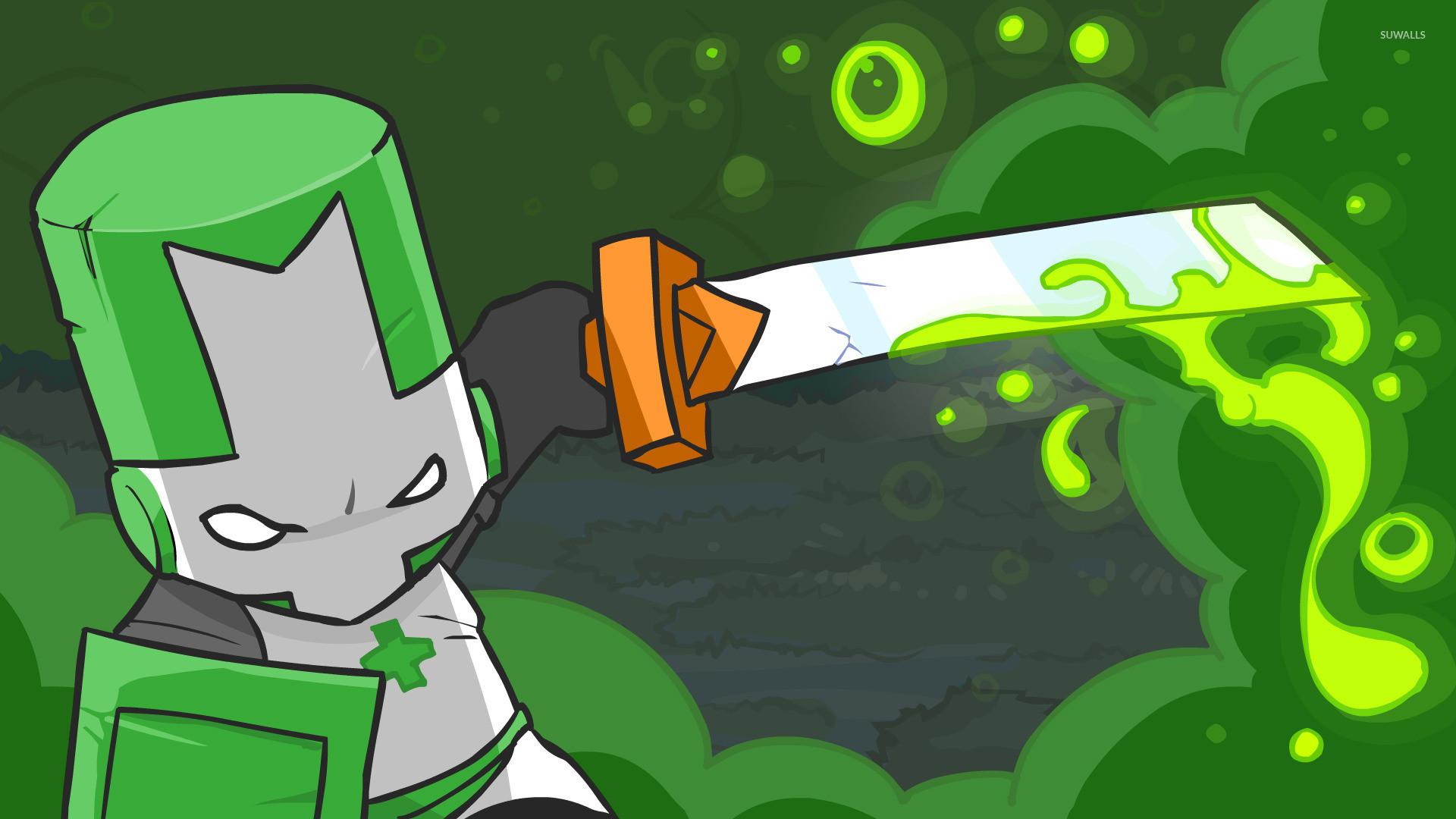 Green Knight – Castle Crashers wallpaper