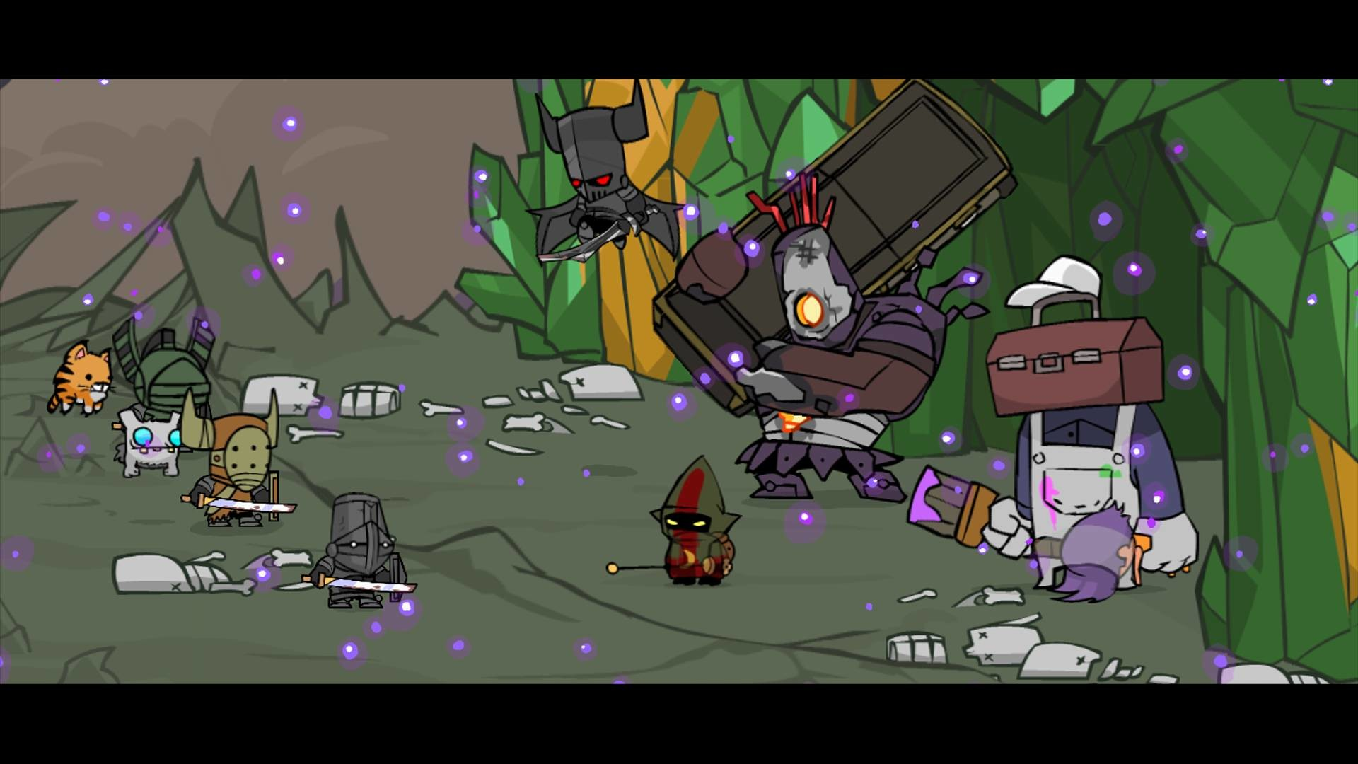 The Behemoth's downloadable Xbox Live Arcade title, Castle Crashers …