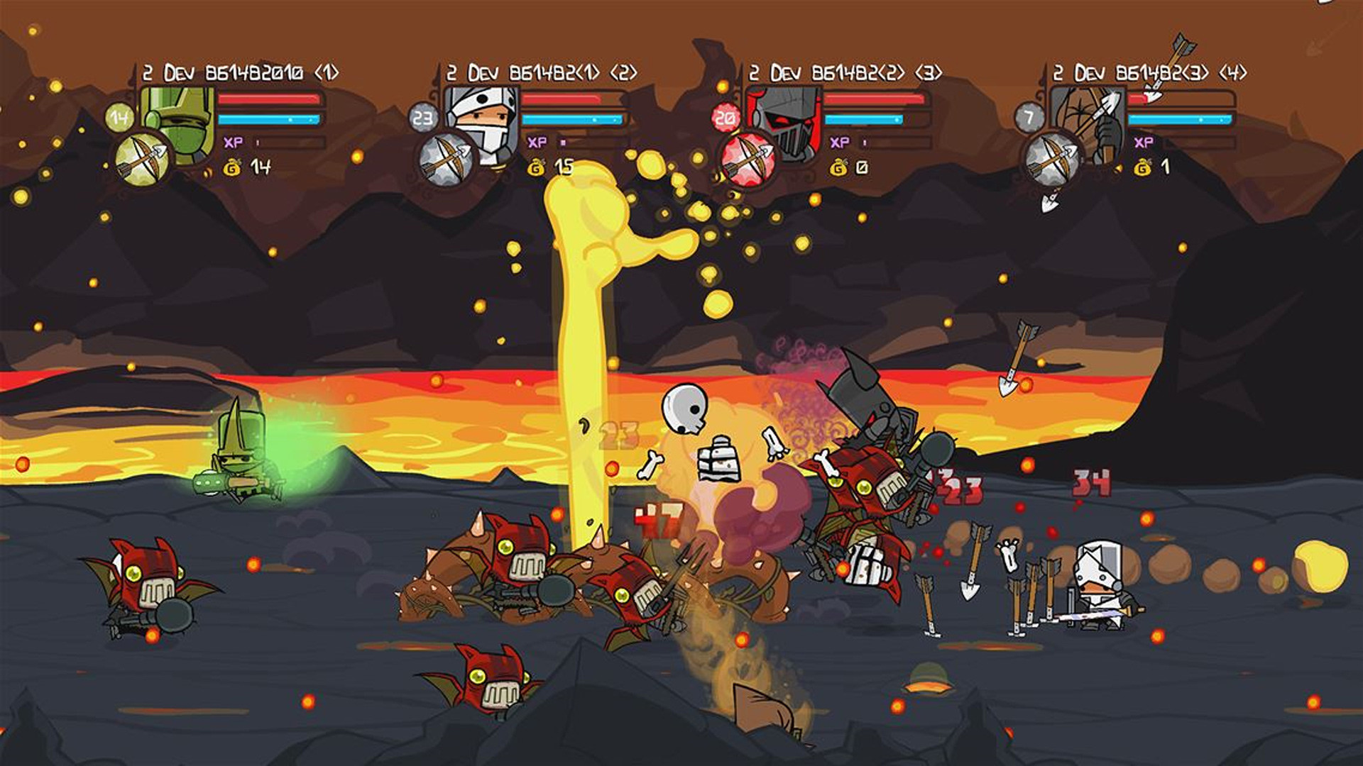 There are far more images available for Castle Crashers, but these are the  ones we felt would be most useful to you. If you have specific requests, …