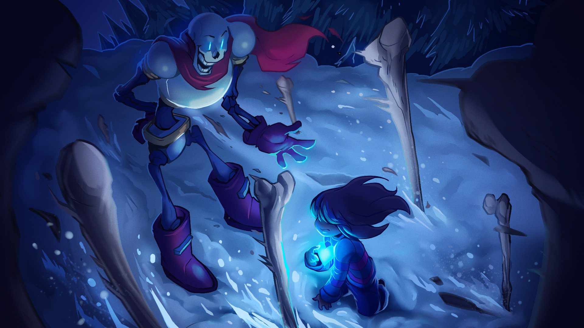 Undertale Wallpapers (boss battles of genocide, neutral, and pacifist  endings) – Album on Imgur