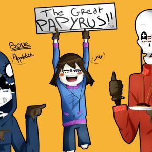 Papyrus Undertale