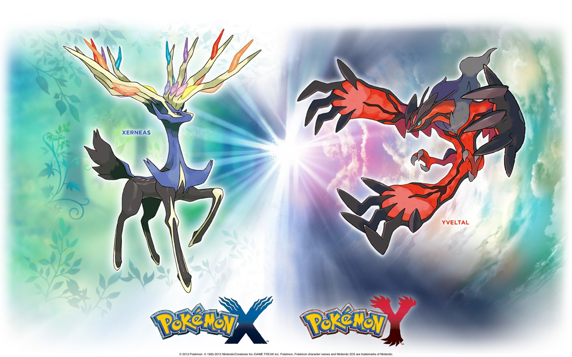… Awesome Pokemon X Y Legendaries Wallpaper Free Wallpaper For Desktop  and Mobile in All Resolutions Free Download