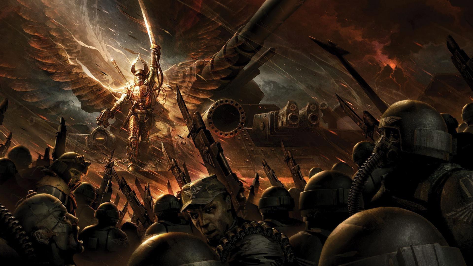 Imperial Guard – Warhammer 40,000 wallpaper – 1024098