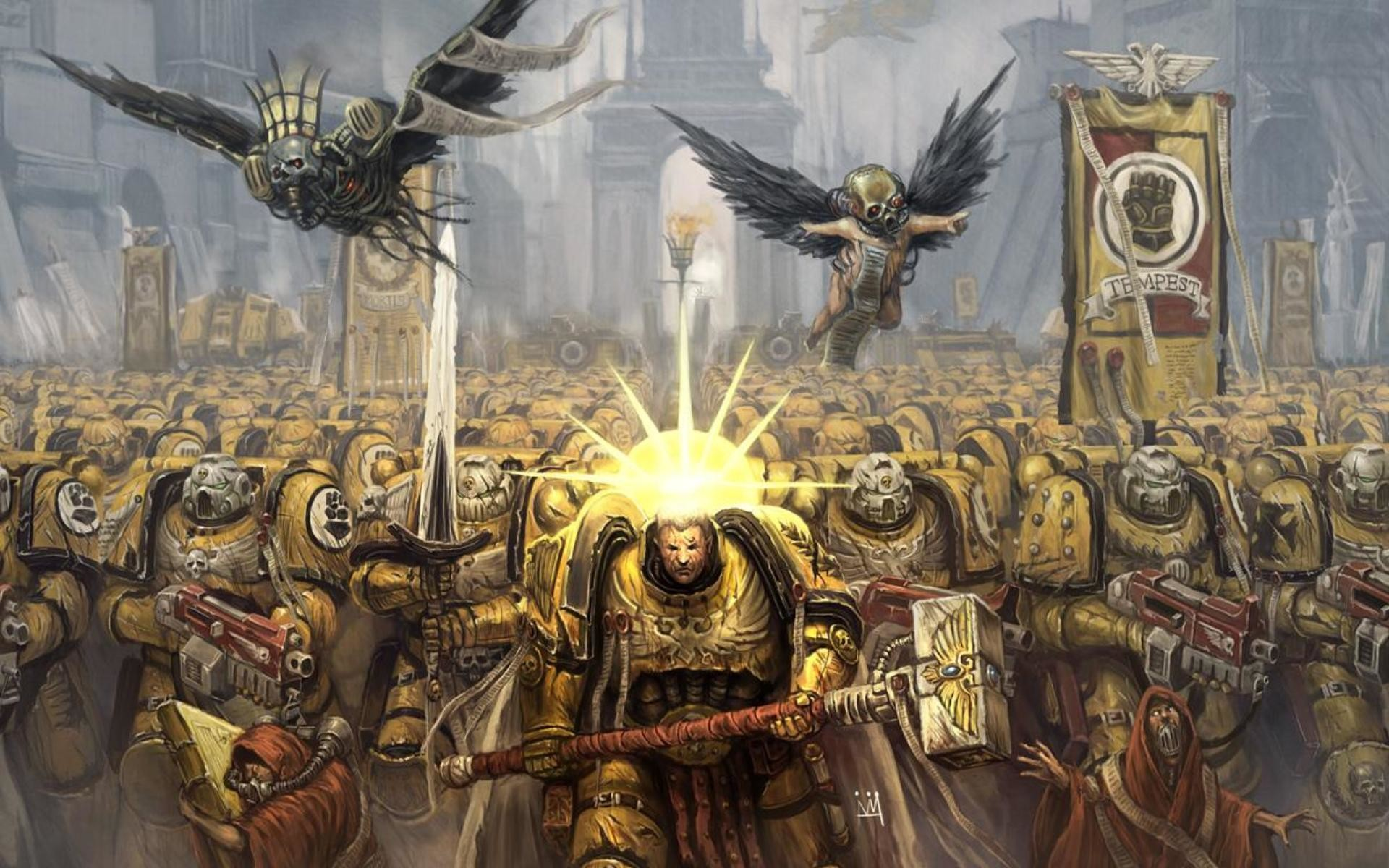 Imperial Fists, Warhammer 40k – Wallpapers – yoyowall.
