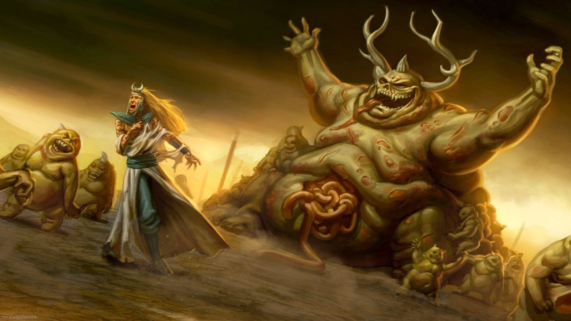 Warhammer Fantasy free desktop backgrounds and wallpapers
