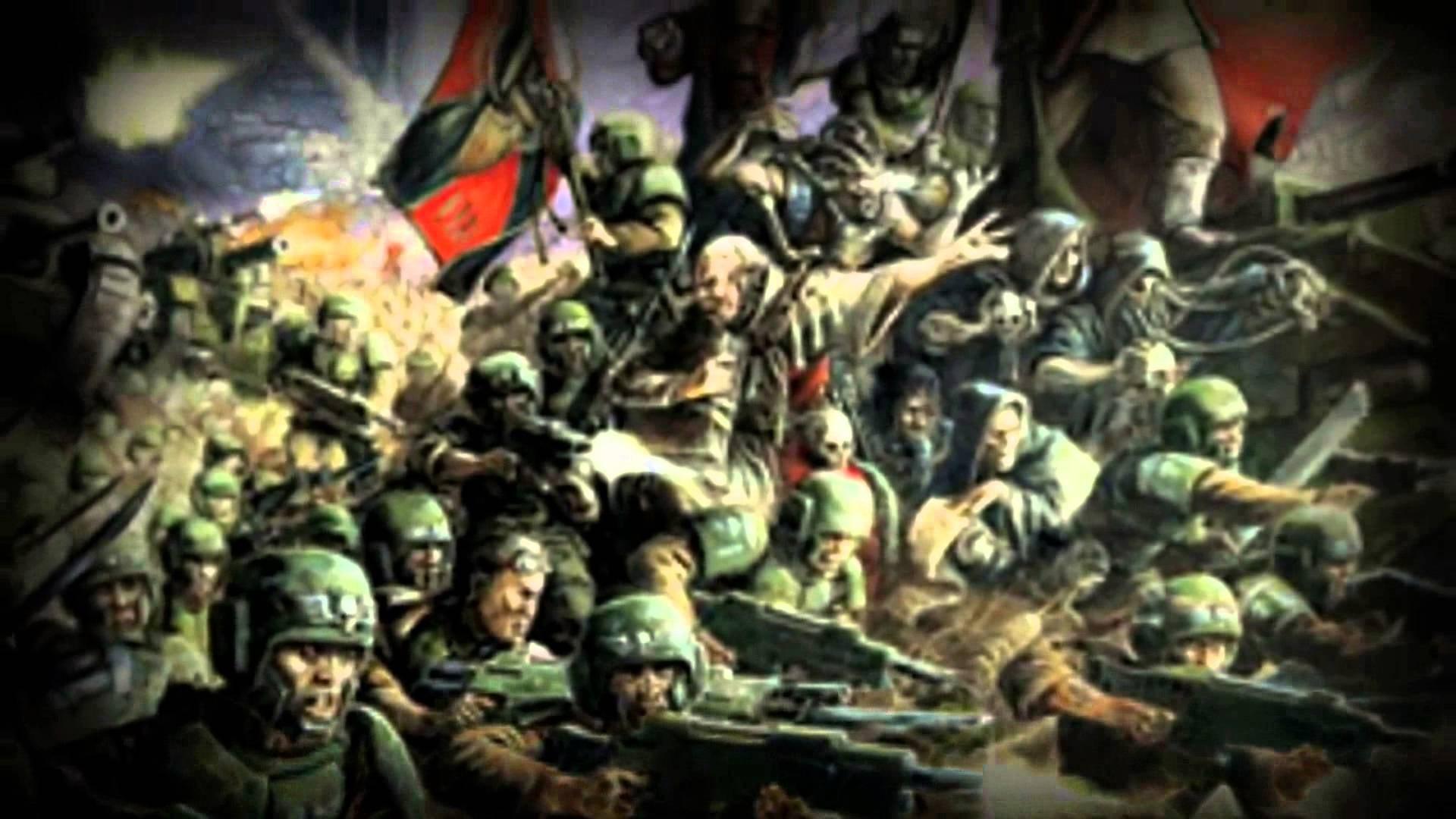 warhammer 40 000 imperial guard wallpaper …
