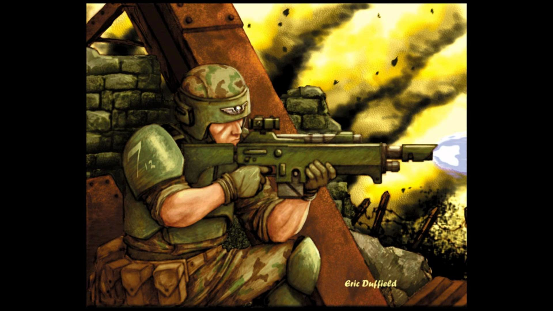 """Warhammer 40K: Imperial Guard """"Back to the World"""""""