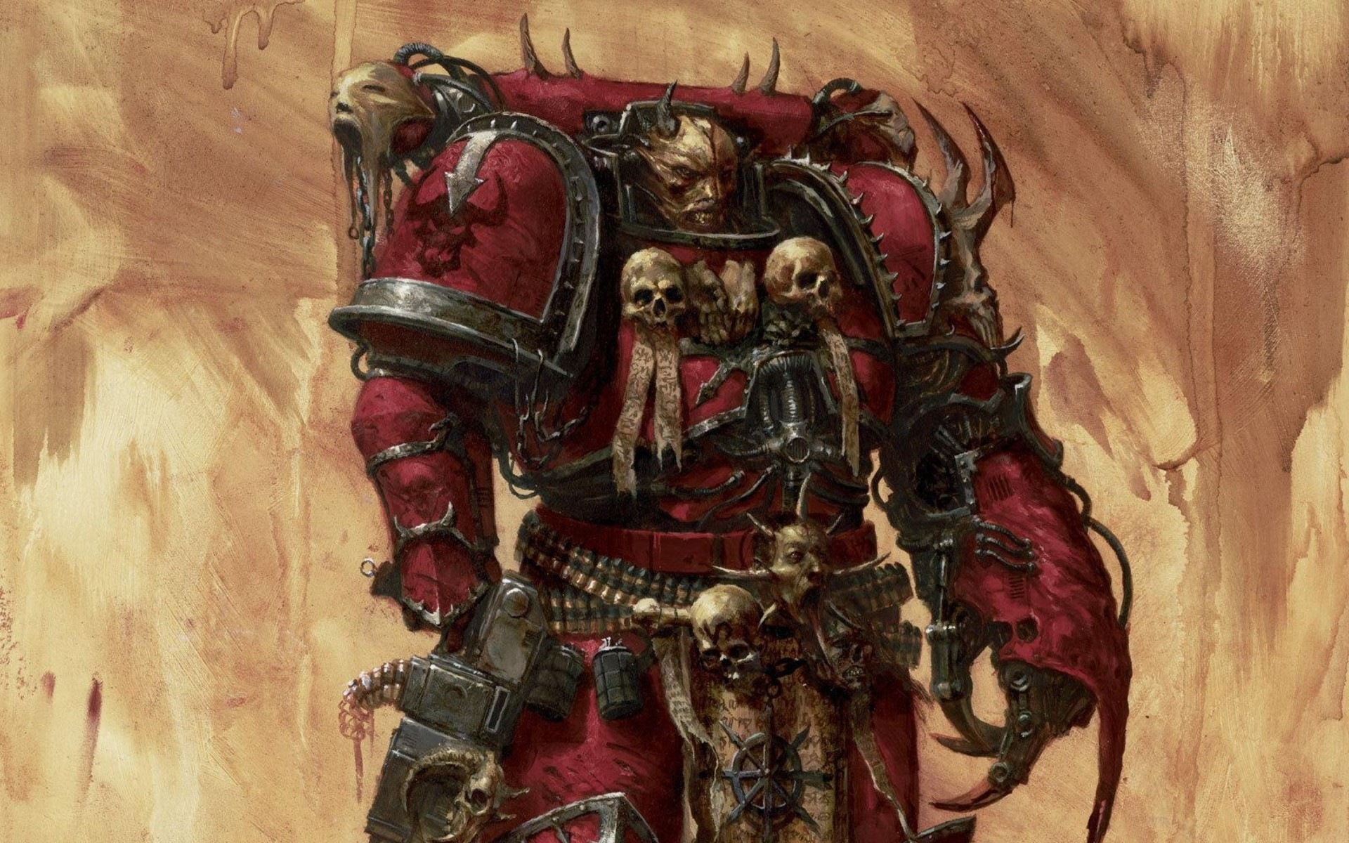 Warhammer 40K Wallpaper Warhammer, 40K, Chaos, Marine .