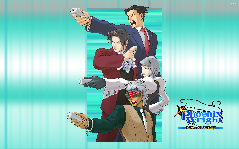 Phoenix Wright: Ace Attorney [2] wallpaper jpg