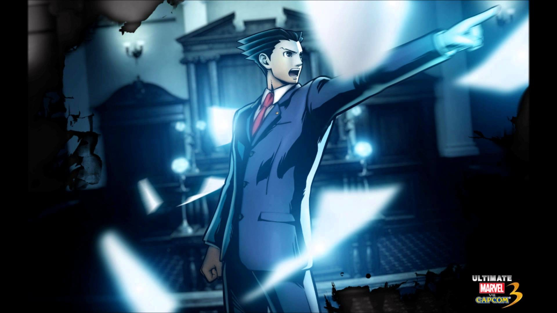 Marvel VS Capcom 3: Fate of Two Worlds-Phoenix Wright's Theme(Turnabout  Mode)-Extended HD