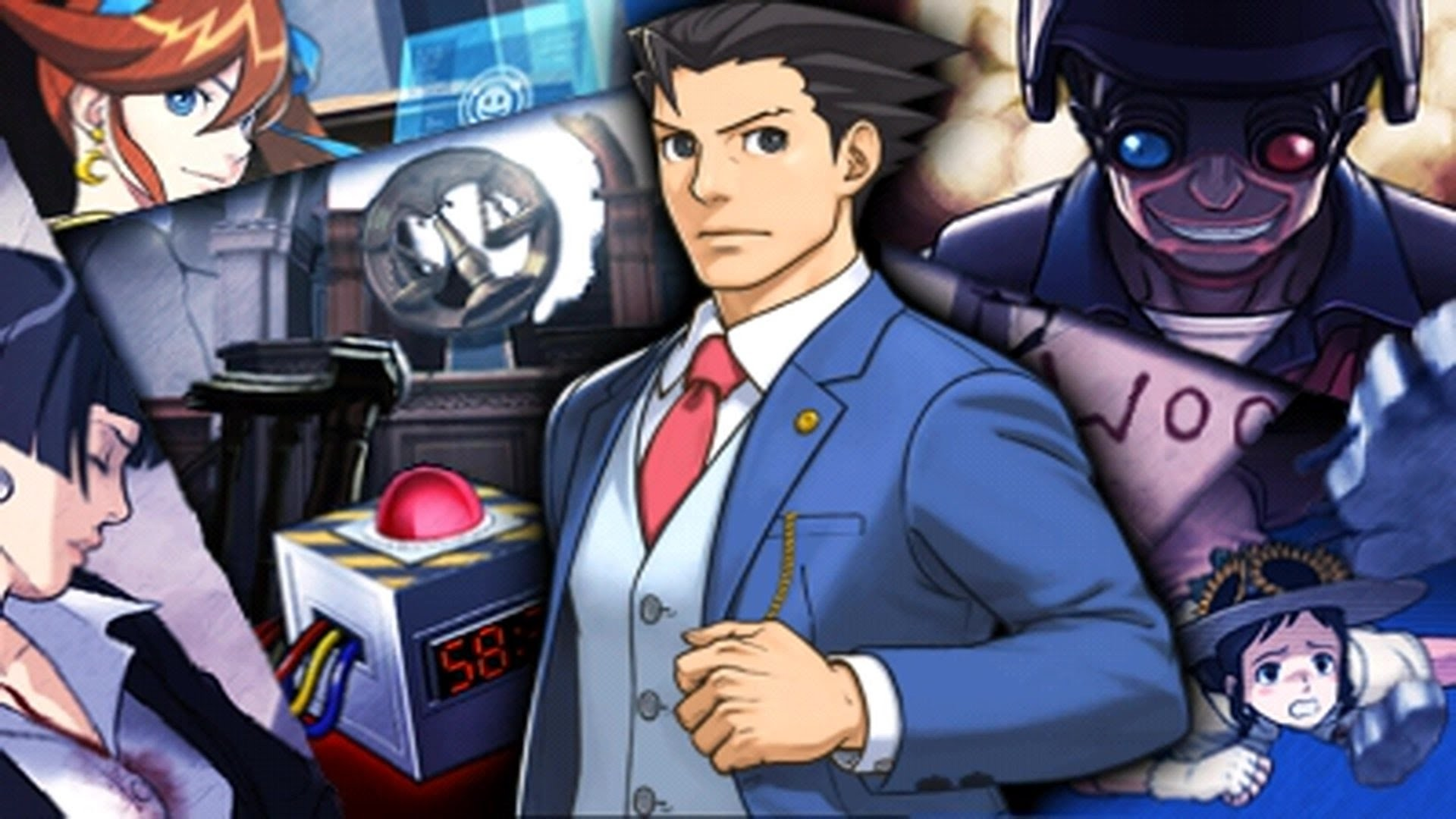 Phoenix Wright: Ace Attorney – Dual Destinies – Episode 1: Turnabout  Countdown Playthrough [3DS] – YouTube