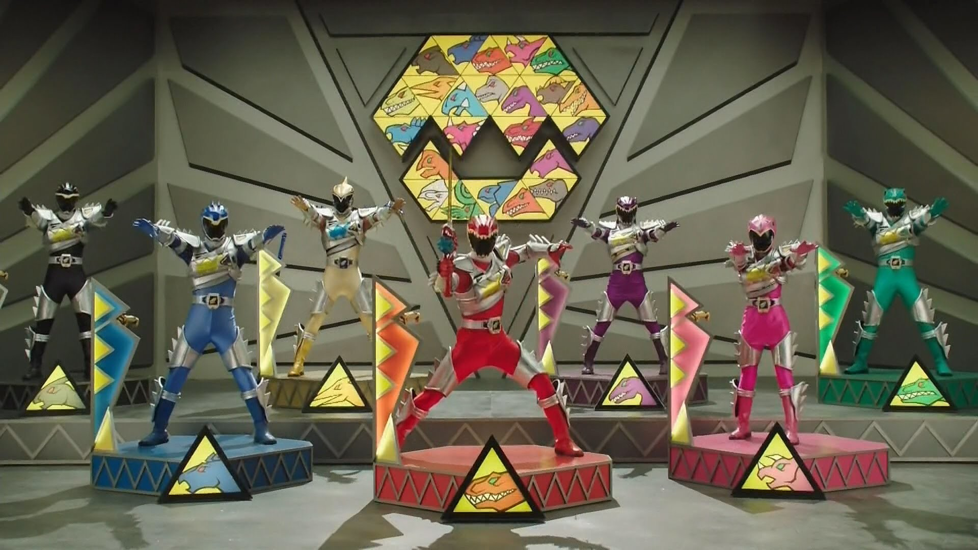 Amazon.com: Power Rangers Dino Charge – Dino Charge Megazord .