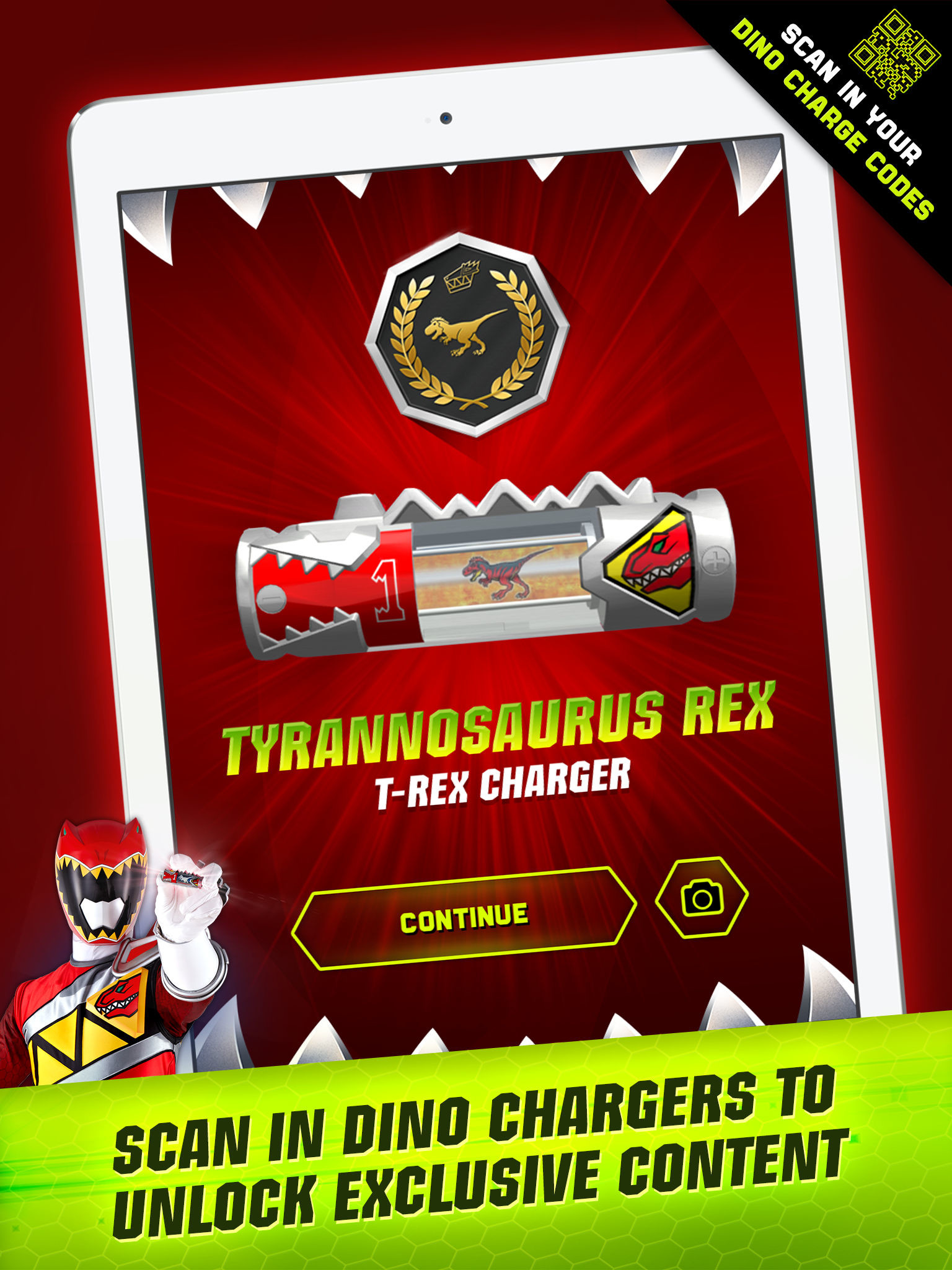 Unlock exclusive Power Rangers Dino Charge wallpapers. App Description