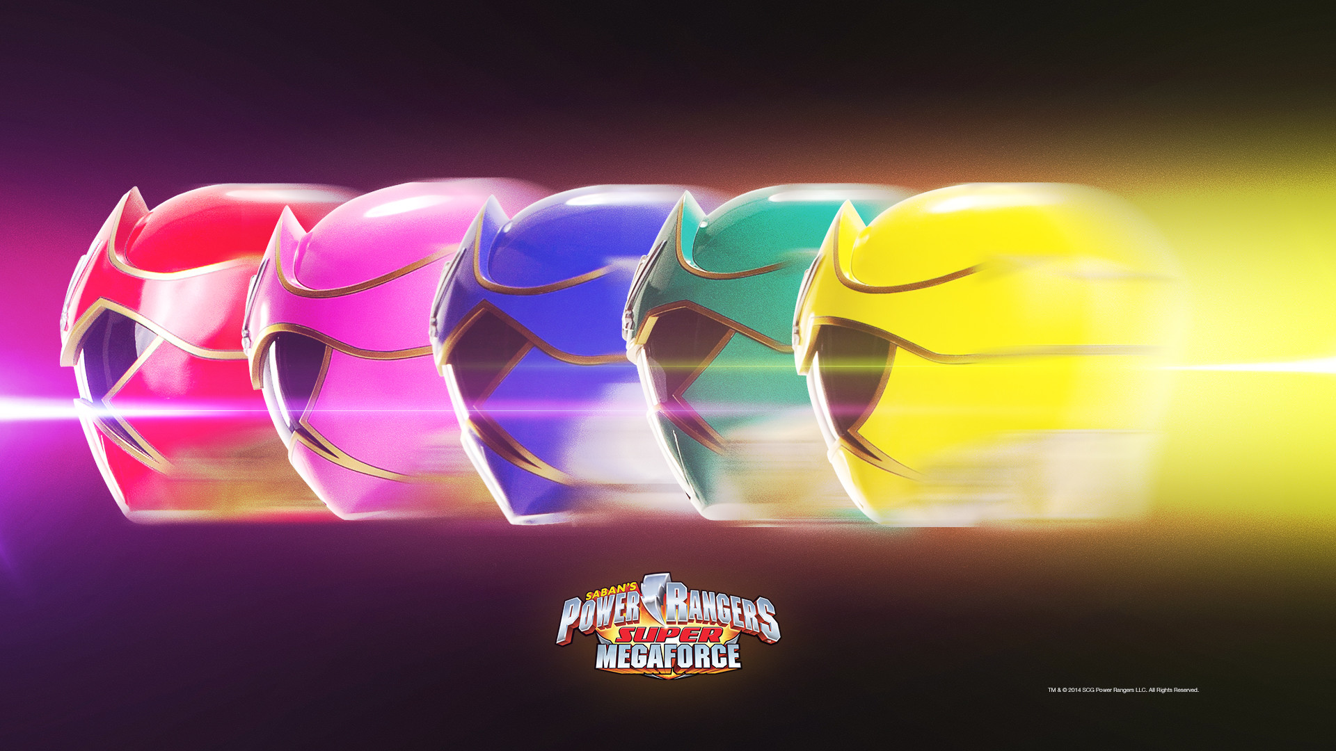 Power Rangers Wallpaper: Super Megaforce Streak  Desktop .