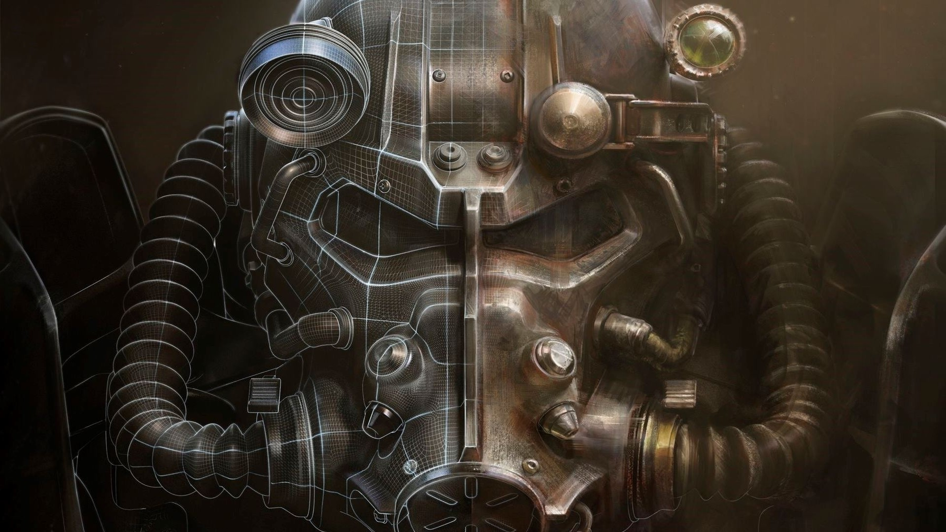 Fallout 4, Helmet, Artwork, Bethesda Softworks, Video Games, Fallout, Power  Armor Wallpapers HD / Desktop and Mobile Backgrounds