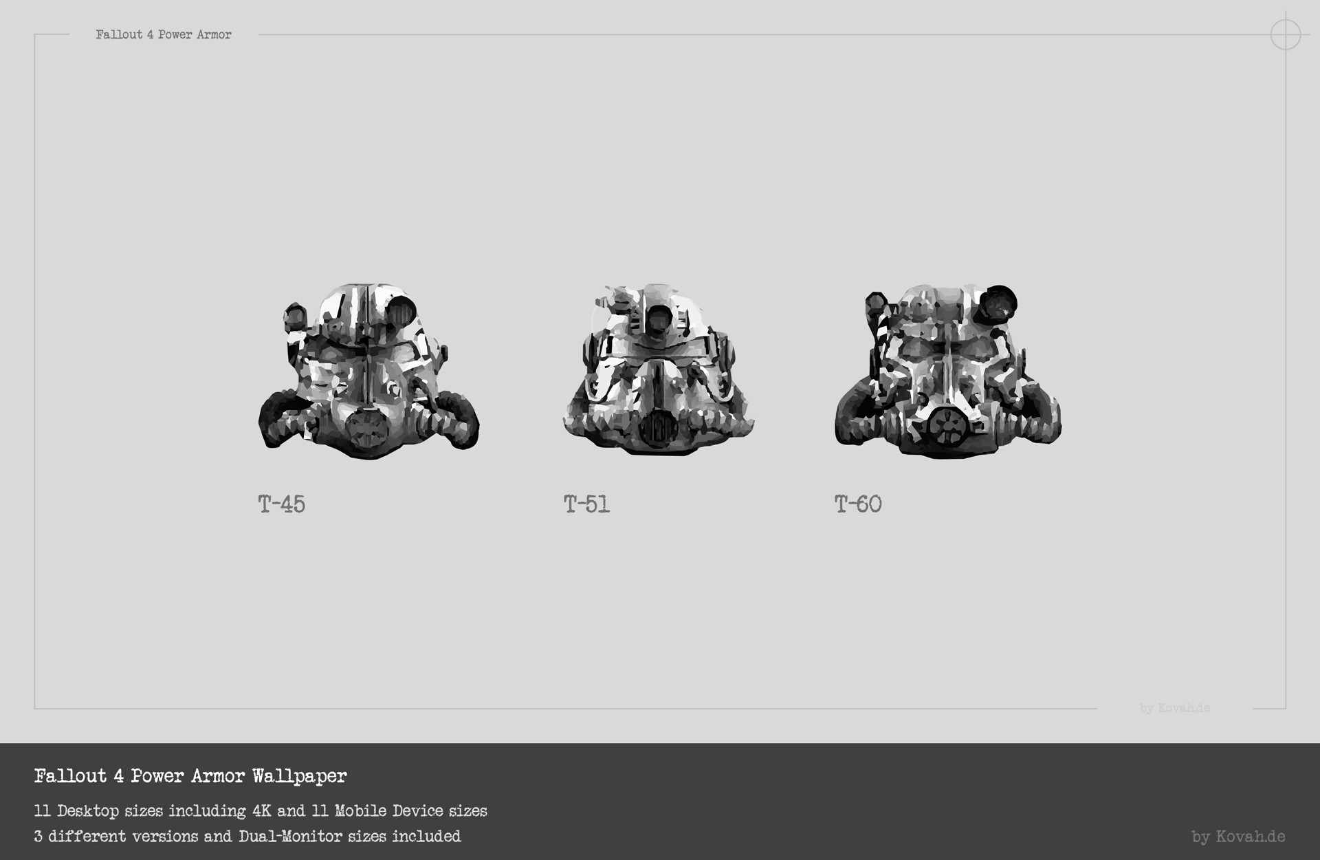… Fallout 4 Power Armor Wallpaper by theKovah