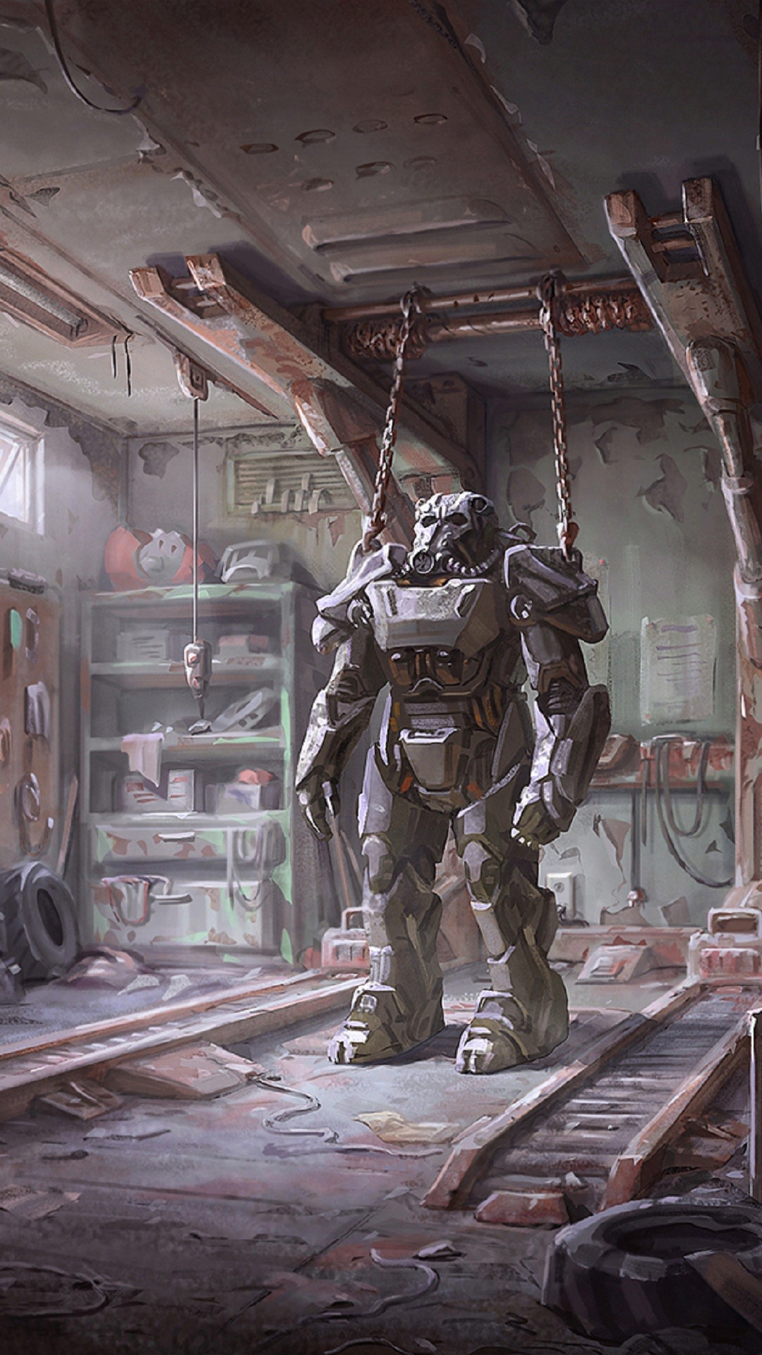 Fallout 4 Mobile Wallpapers. Fallout 4 Power ArmorFallout …