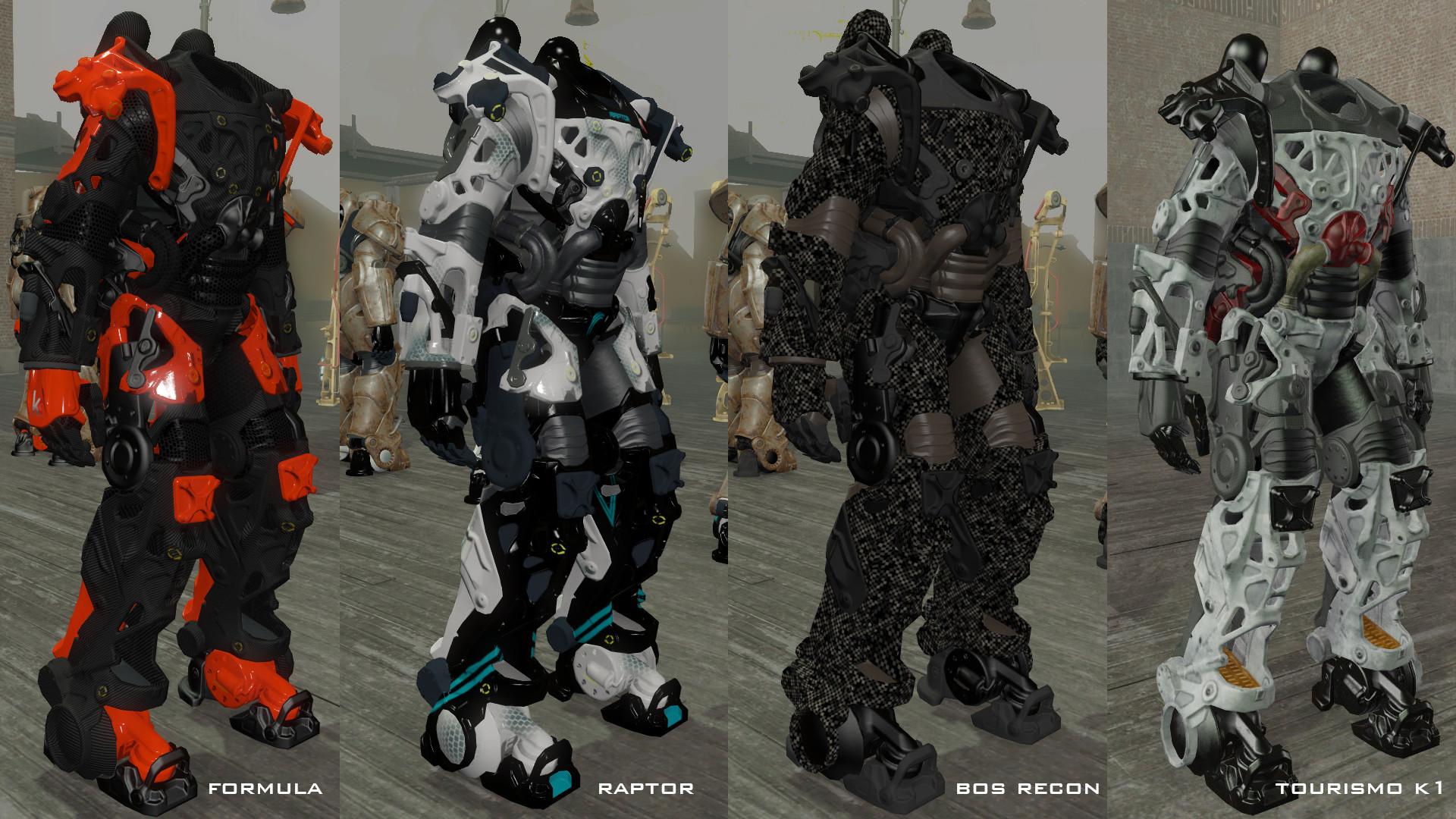 Kooj's Power Armor Frames at Fallout 4 Nexus – Mods and community   Fallout    Pinterest