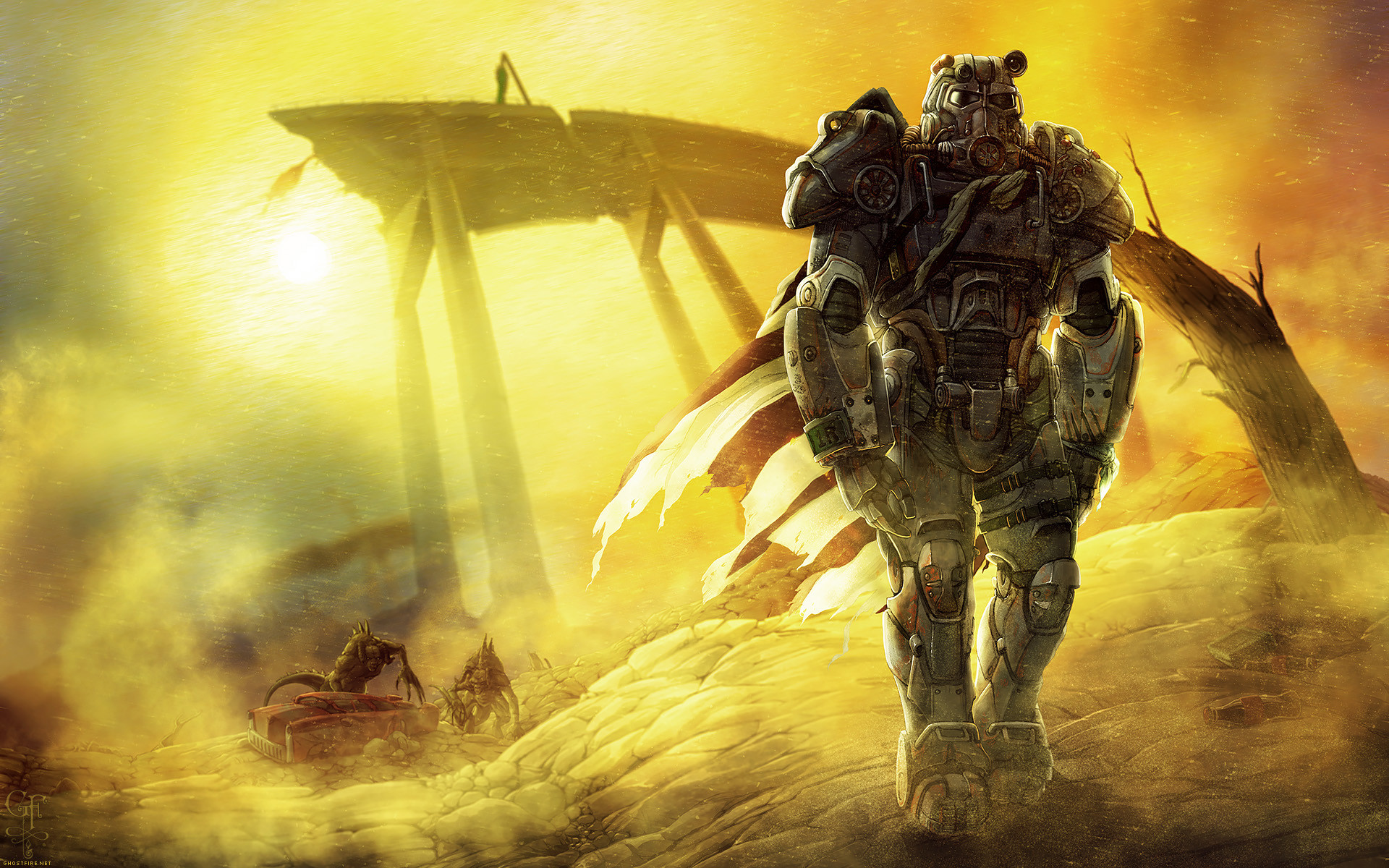… Fallout – Roaming the Wasteland – Wallpaper Pack by ghostfire
