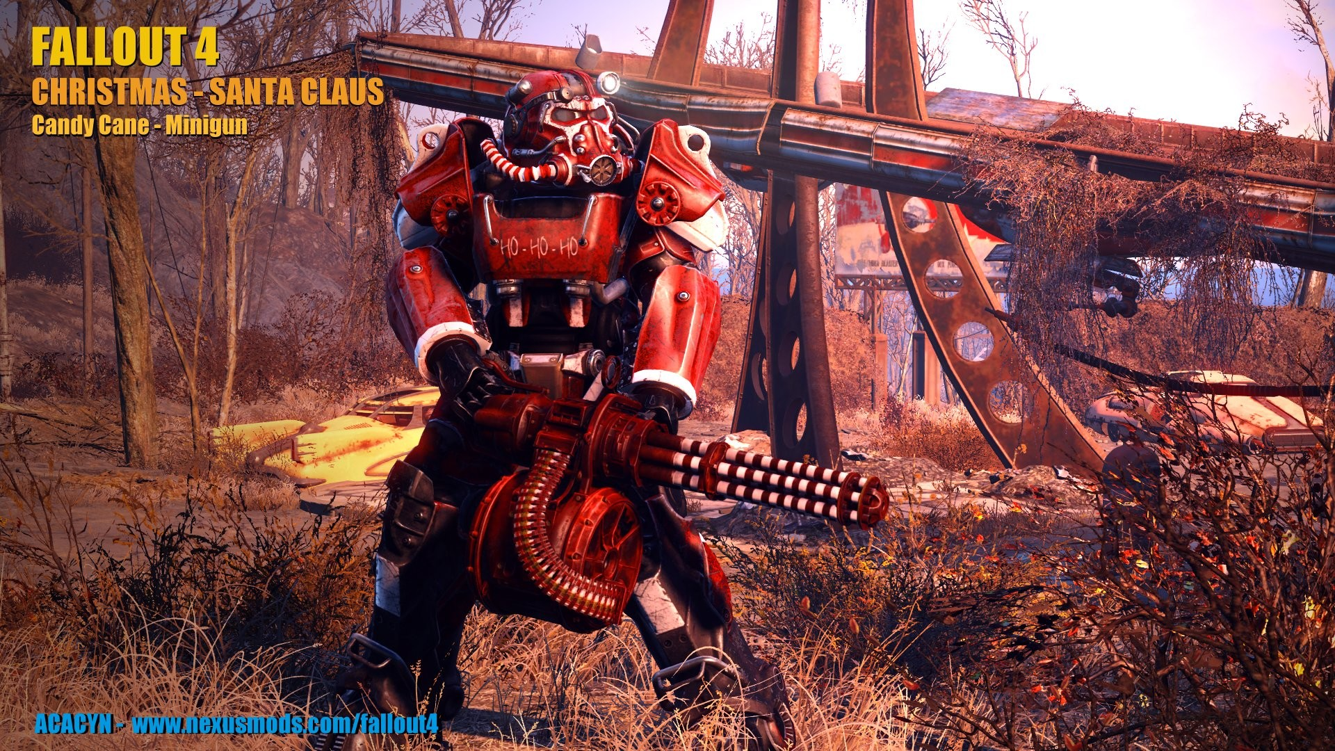Christmas – Santa Claus Power Armor at Fallout 4 Nexus – Mods and community