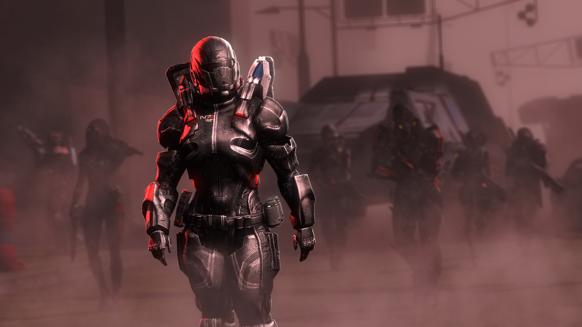 Fallout HD wallpaper – Power armor by umi-no-mizu on DeviantArt