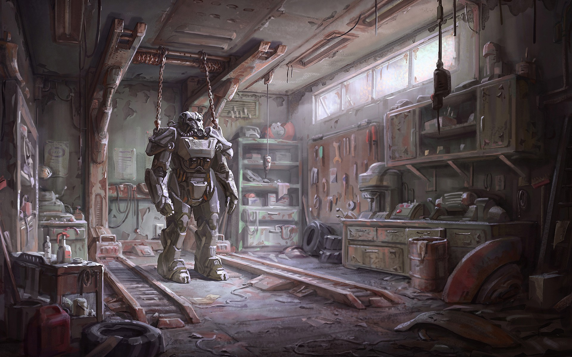 <b>Fallout 4</b>, Bethesda Softworks, Apocalyptic, Video