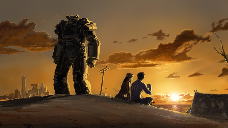 Video Game – Fallout 4 Piper Wright Sole Survivor (Fallout 4) Power Armor  Wallpaper