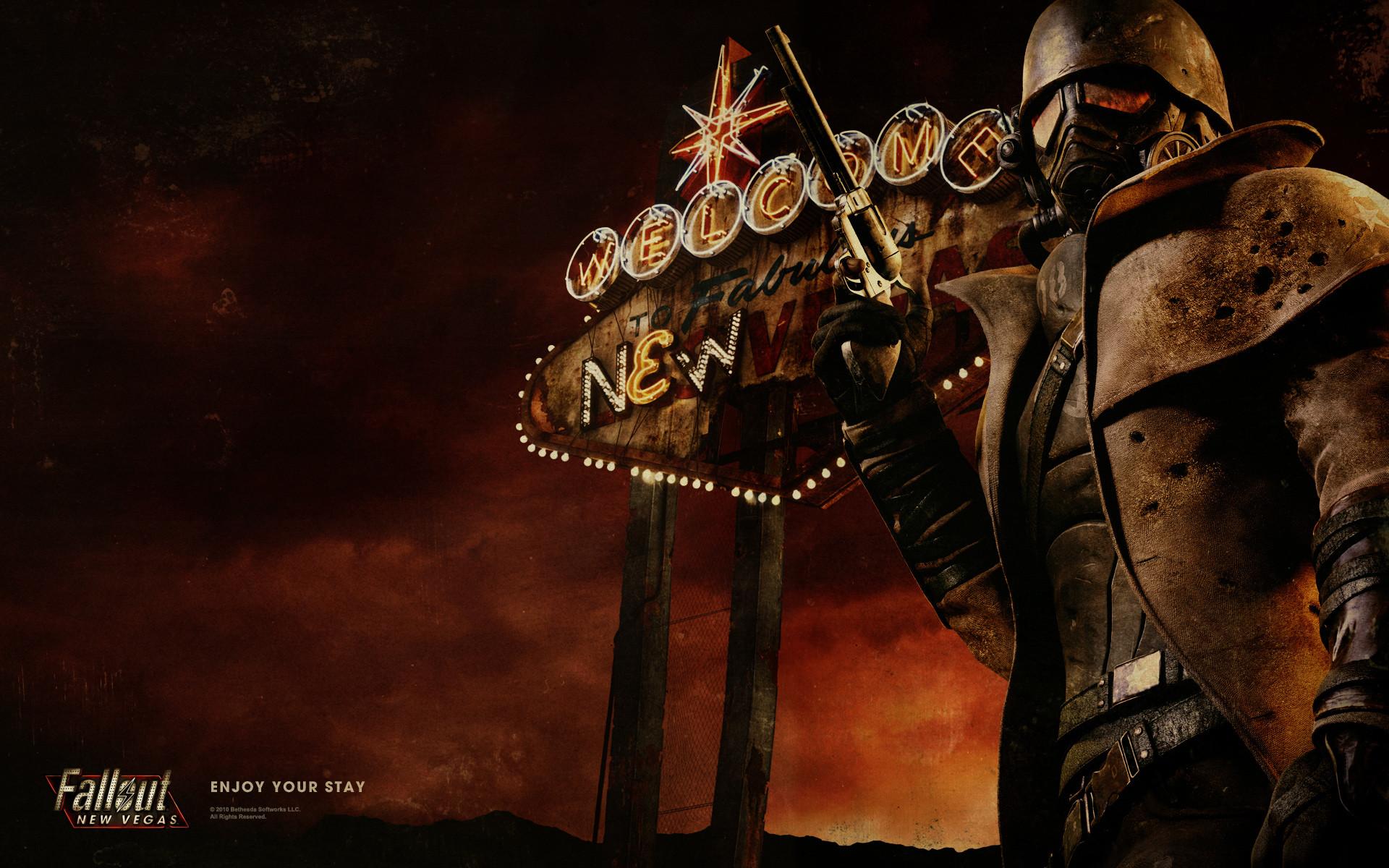 Fallout New Vegas Backgrounds Wallpaper   HD Wallpapers   Pinterest    Fallout, Wallpaper and Concept art