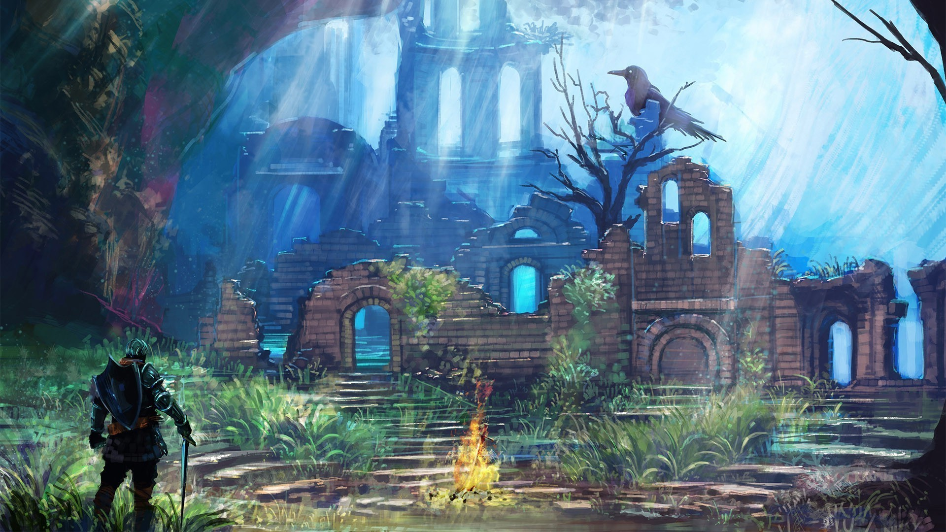 Dark Souls II wallpaper – 1024068