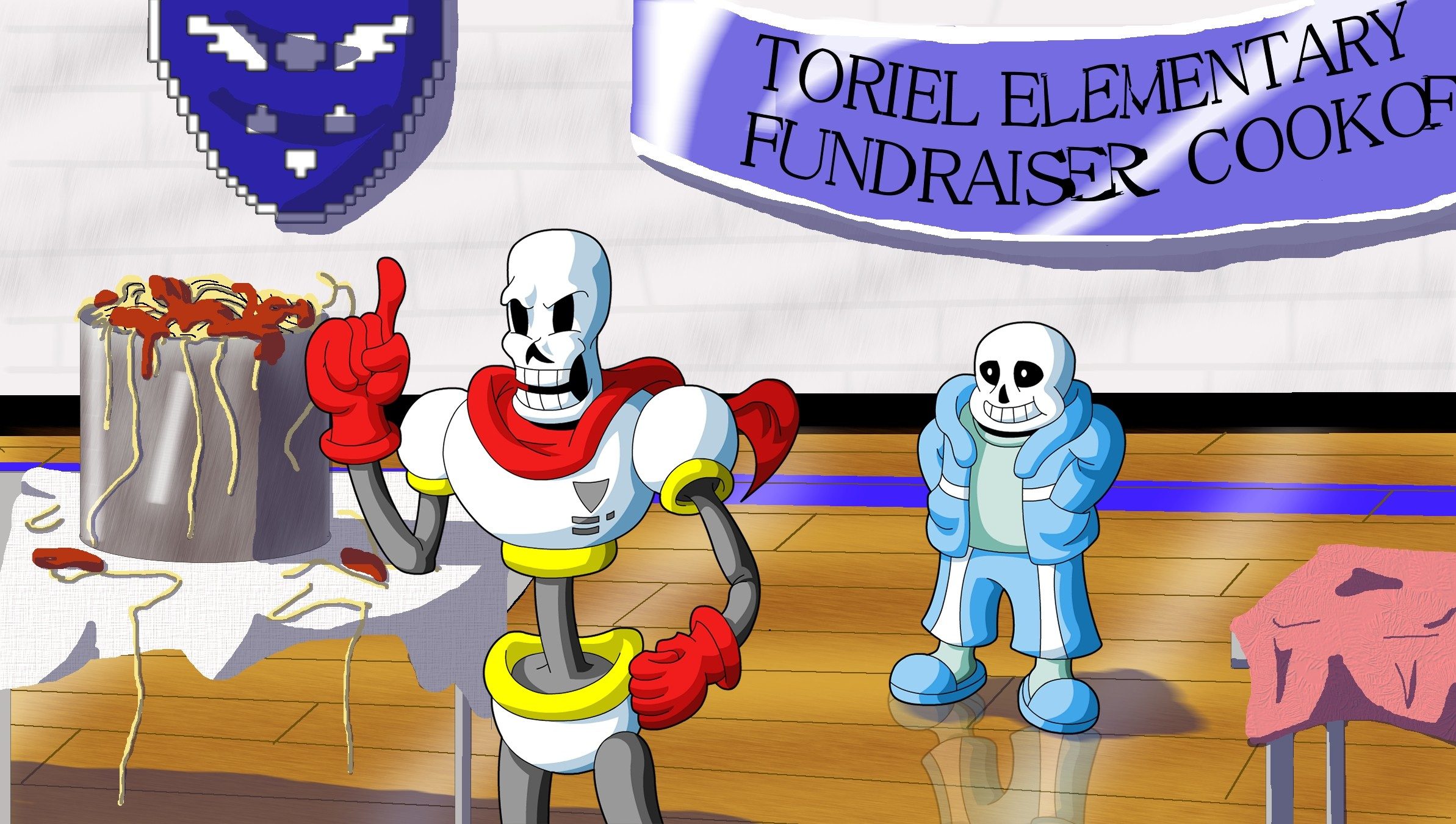 Sans and Papyrus: Helping Out…? by Clovis15 on DeviantArt