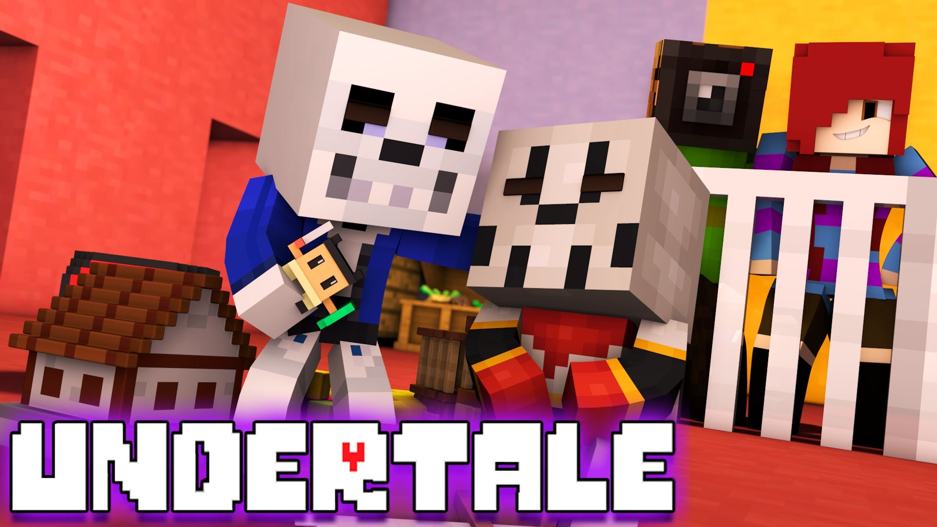 Minecraft Undertale WHO'S YOUR DADDY! BABY PAPYRUS AND SANS! (Minecraft  Roleplay Minigame) – YouTube