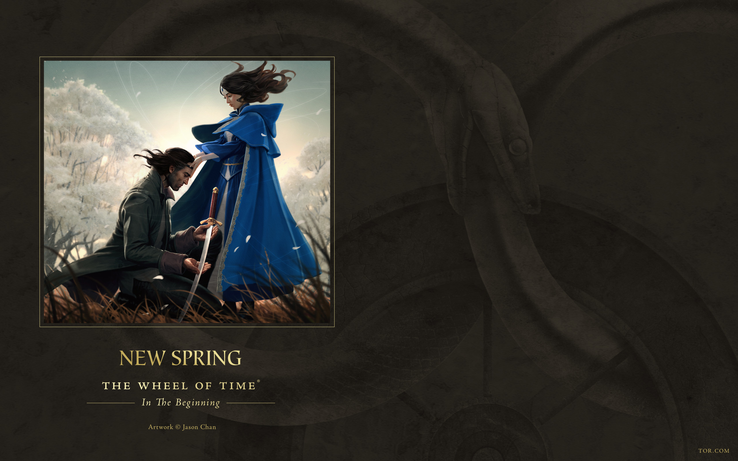 … New Spring ebook cover art wallpaper by ArcangHell