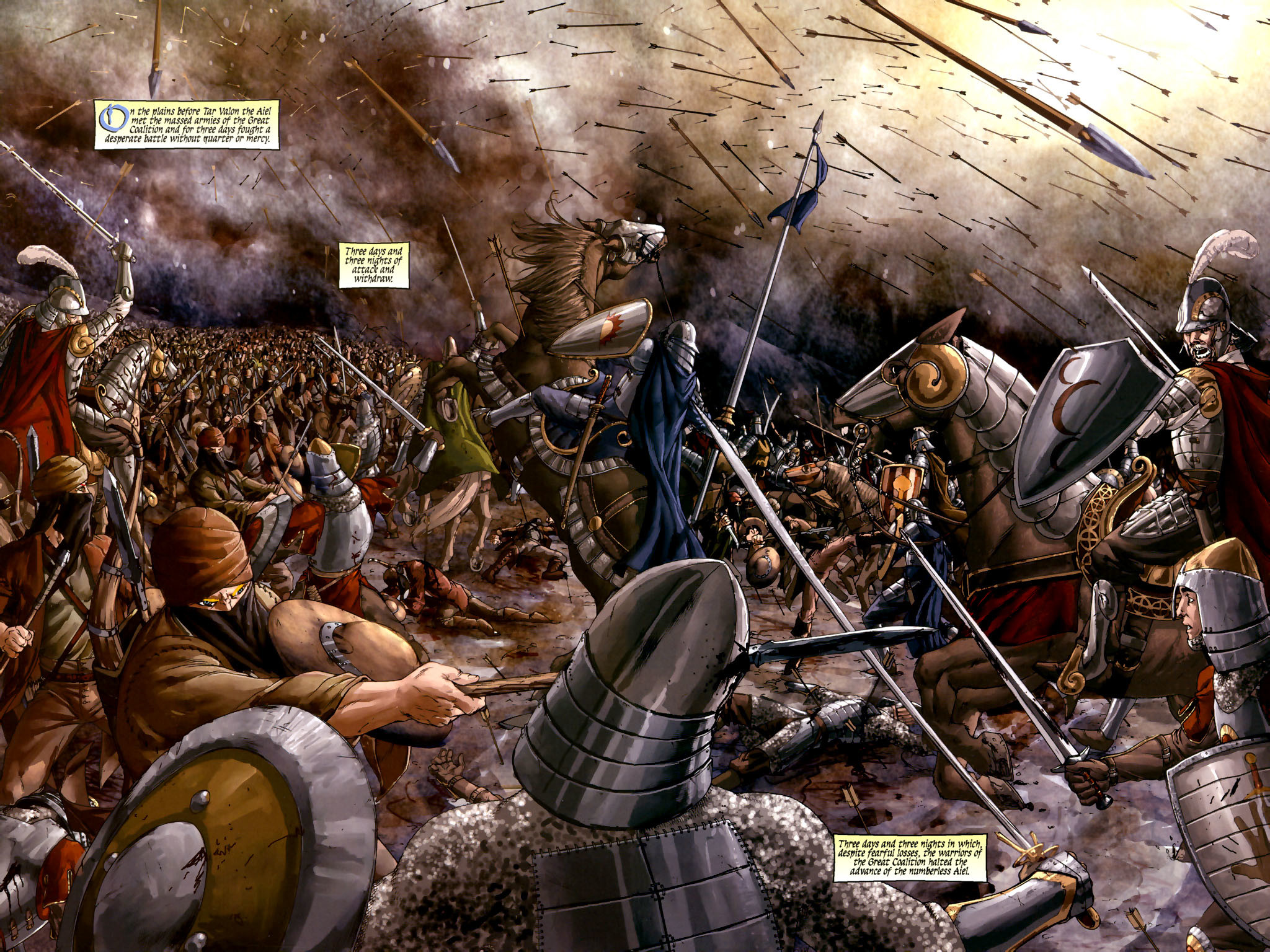 As a World History teacher I have always found the videos of battles hard  to swallow – not because they are violent, but because they are ridiculous.