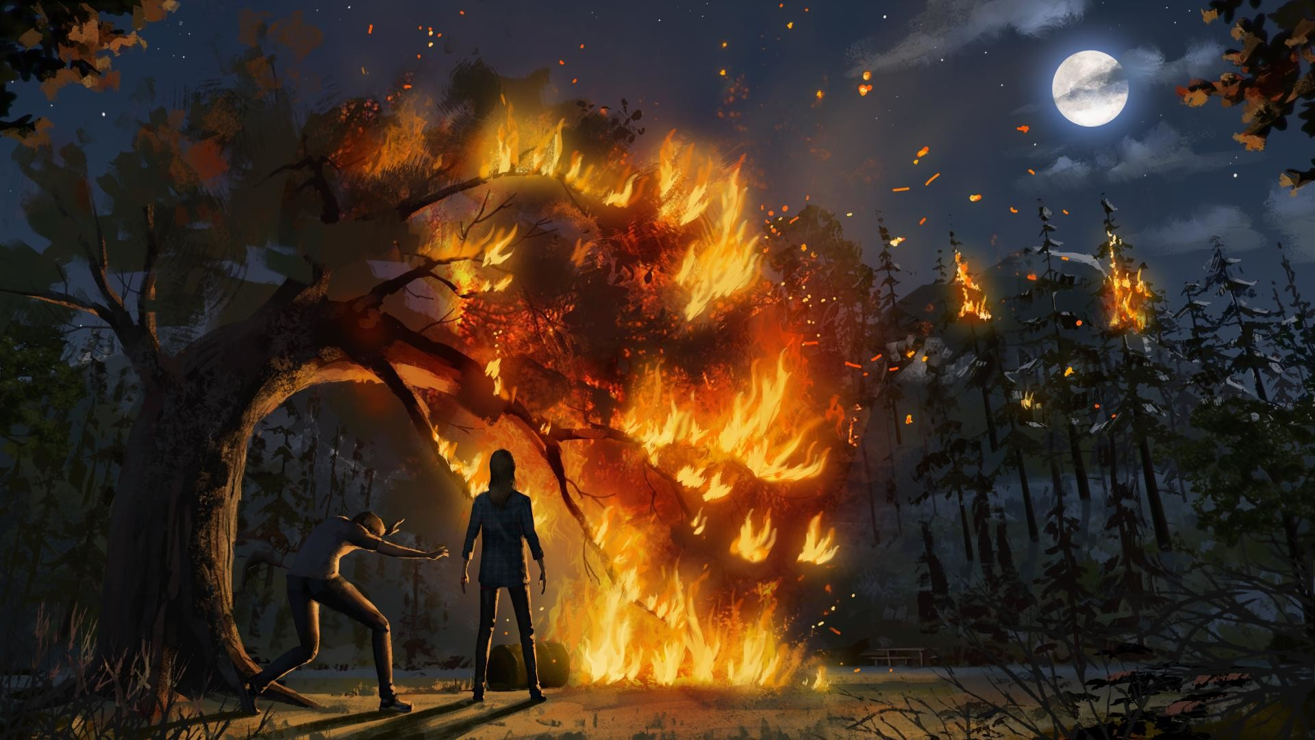 Video Game – Life is Strange: Before The Storm Wallpaper
