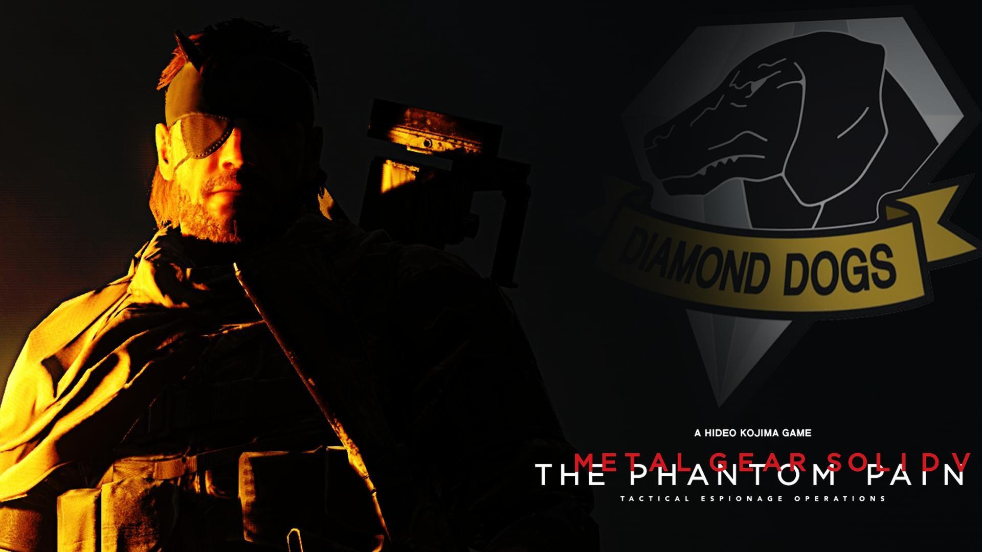 MGSV The Phantom Pain Custom Wallpaper …