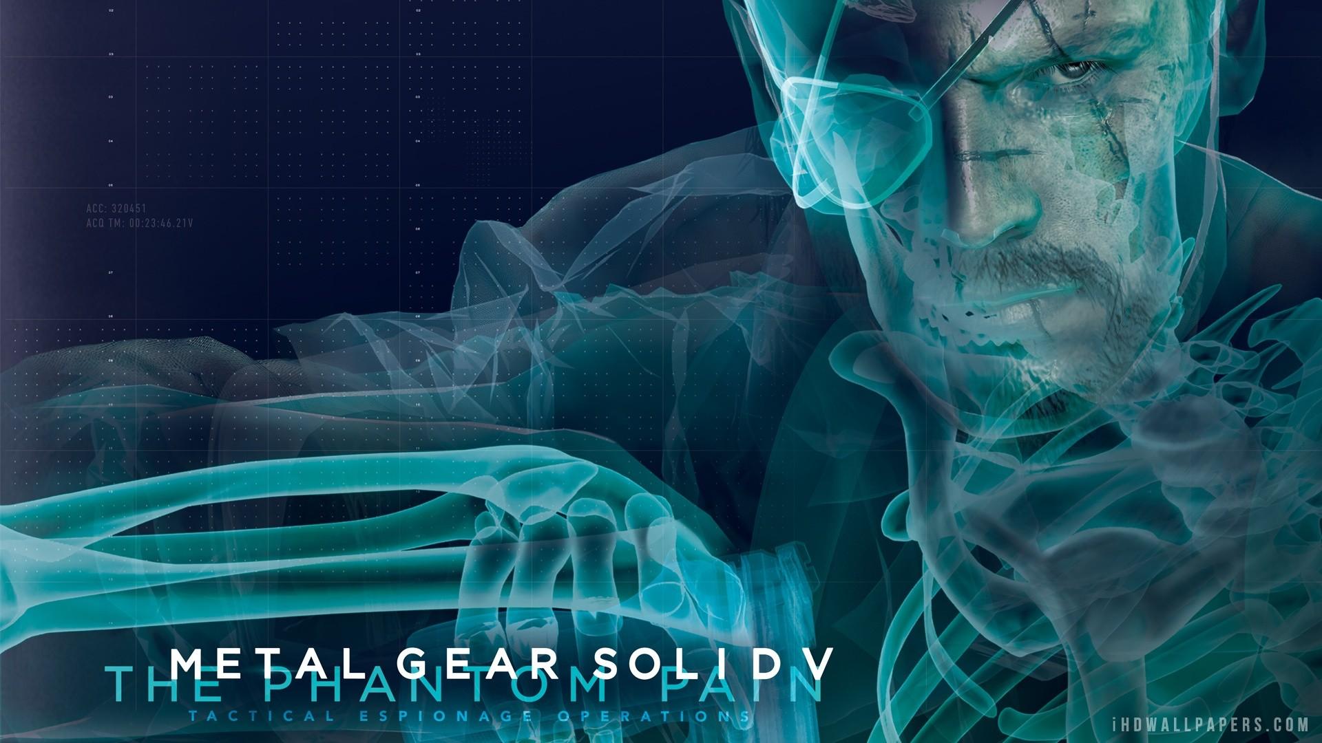 Metal Gear Solid 5 The Phantom Pain HD Wallpaper – iHD Wallpapers