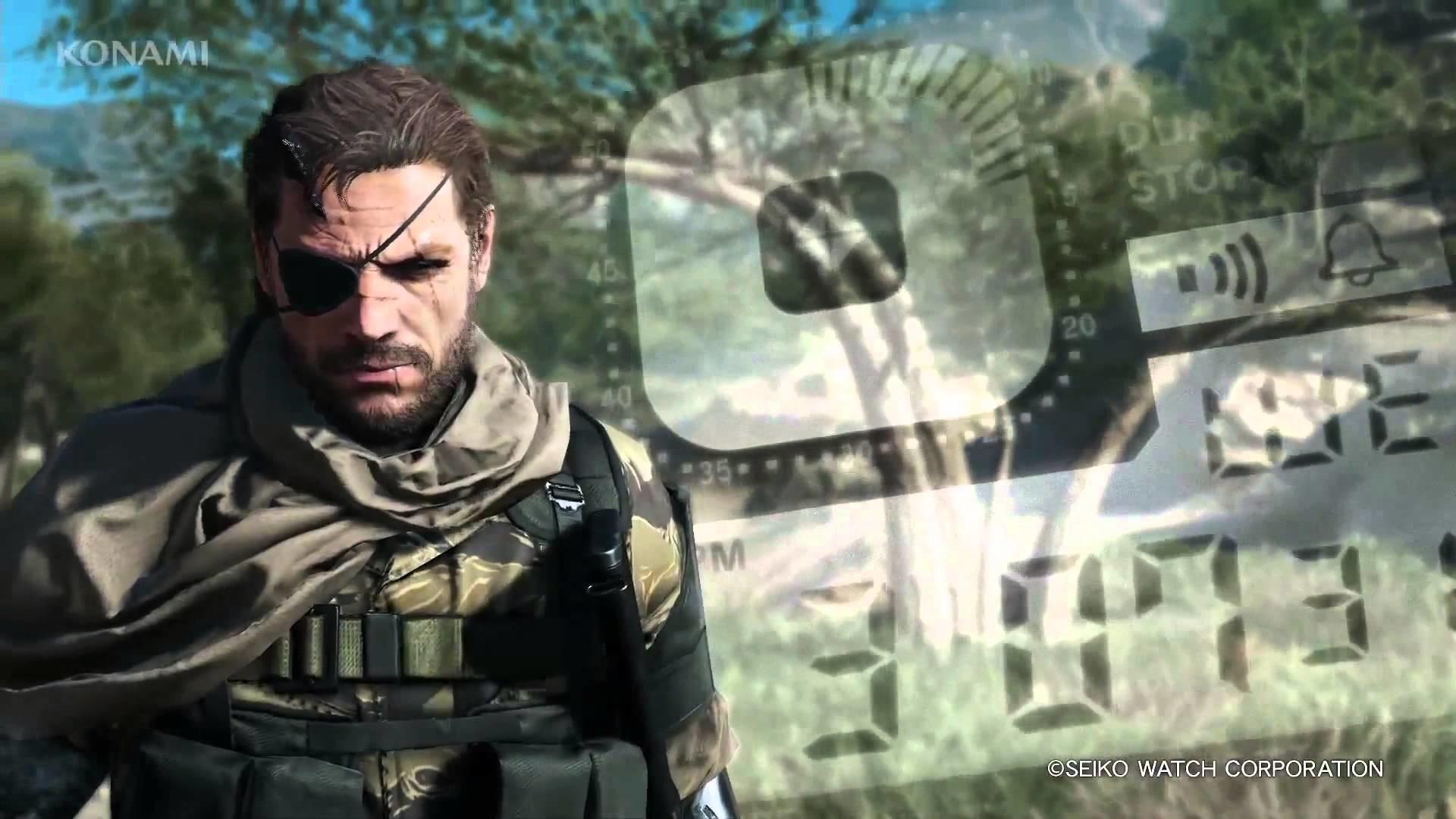 Metal Gear Solid 5 Phantom Pain Snake