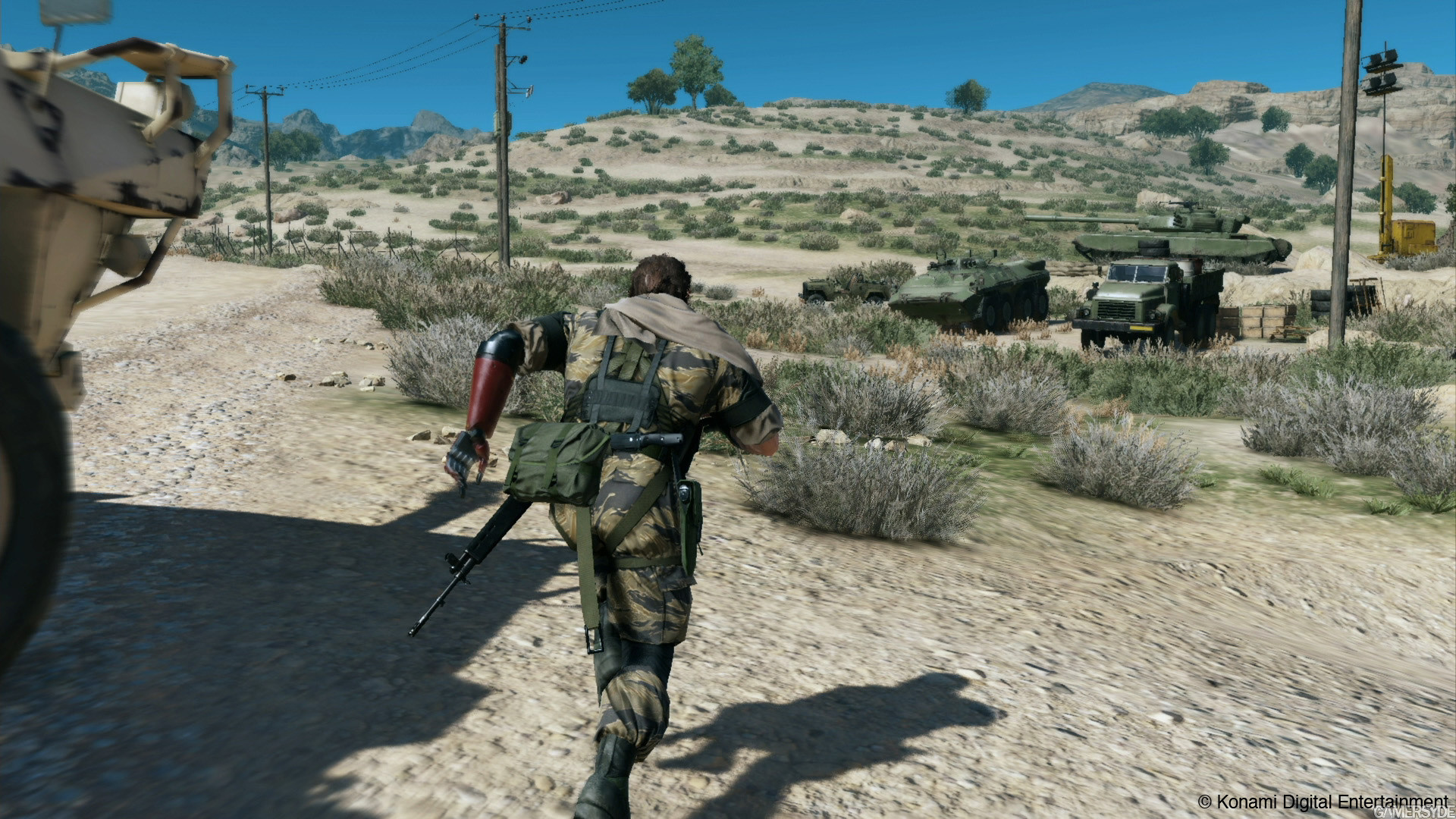 Metal Gear Solid V: The Phantom Pain Day 1 Update Is Live, Adds FOB Support  And Optimization