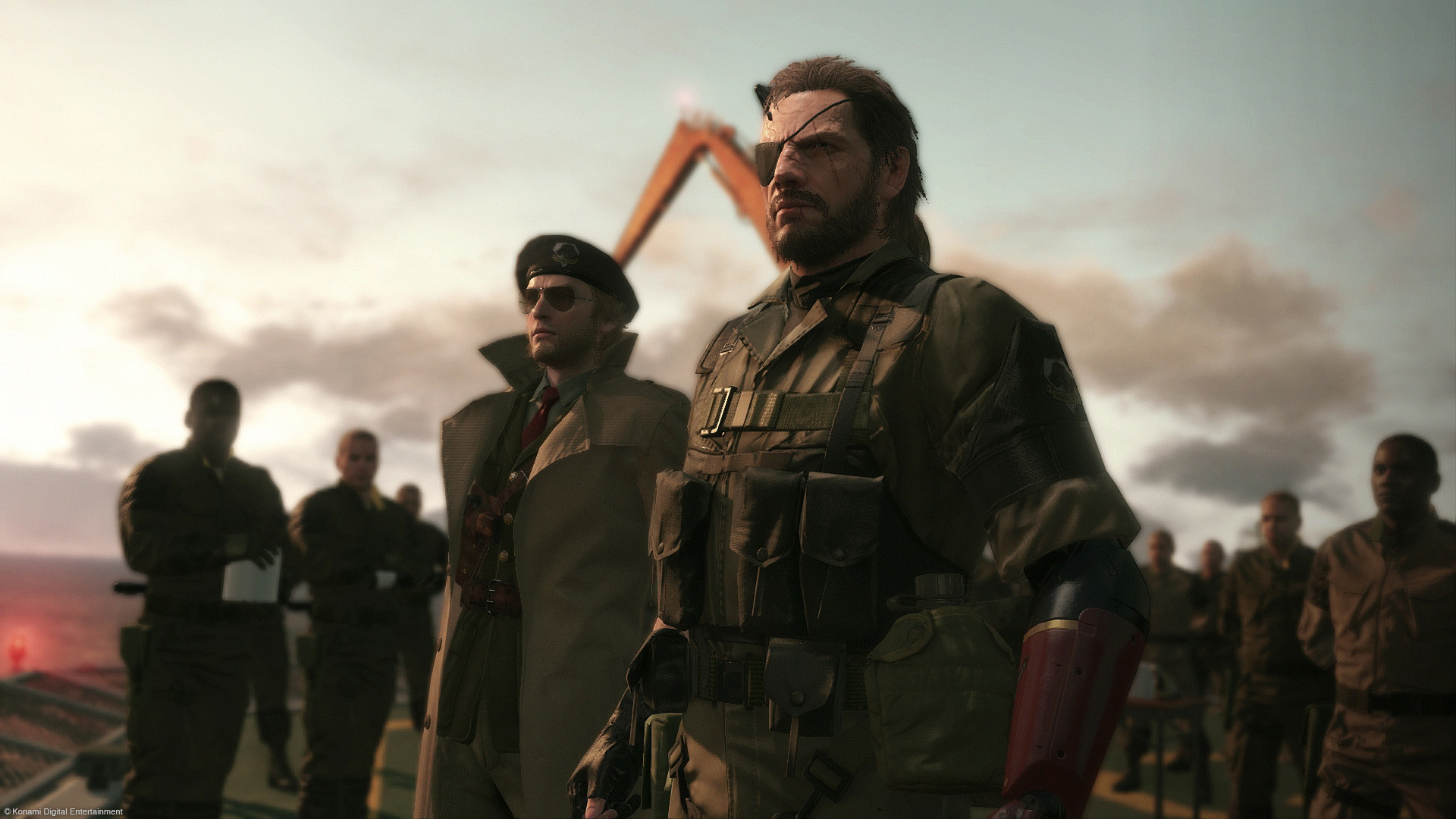 E3 2014: Making Peace in Metal Gear Solid 5: The Phantom Pain – GameSpot