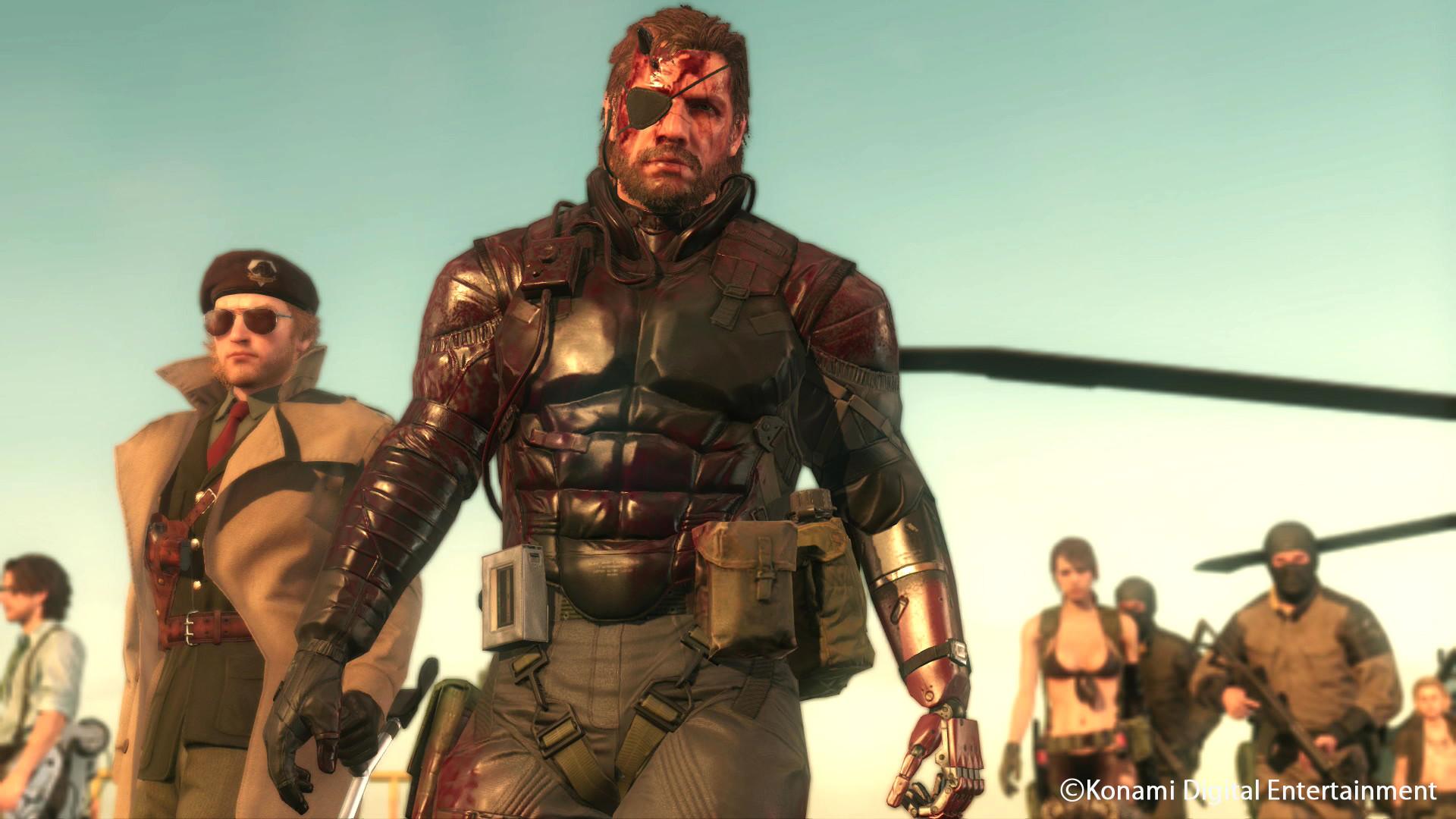 Metal Gear Solid 5 Phantom Pain Walkthrough Gameplay Part 12 .