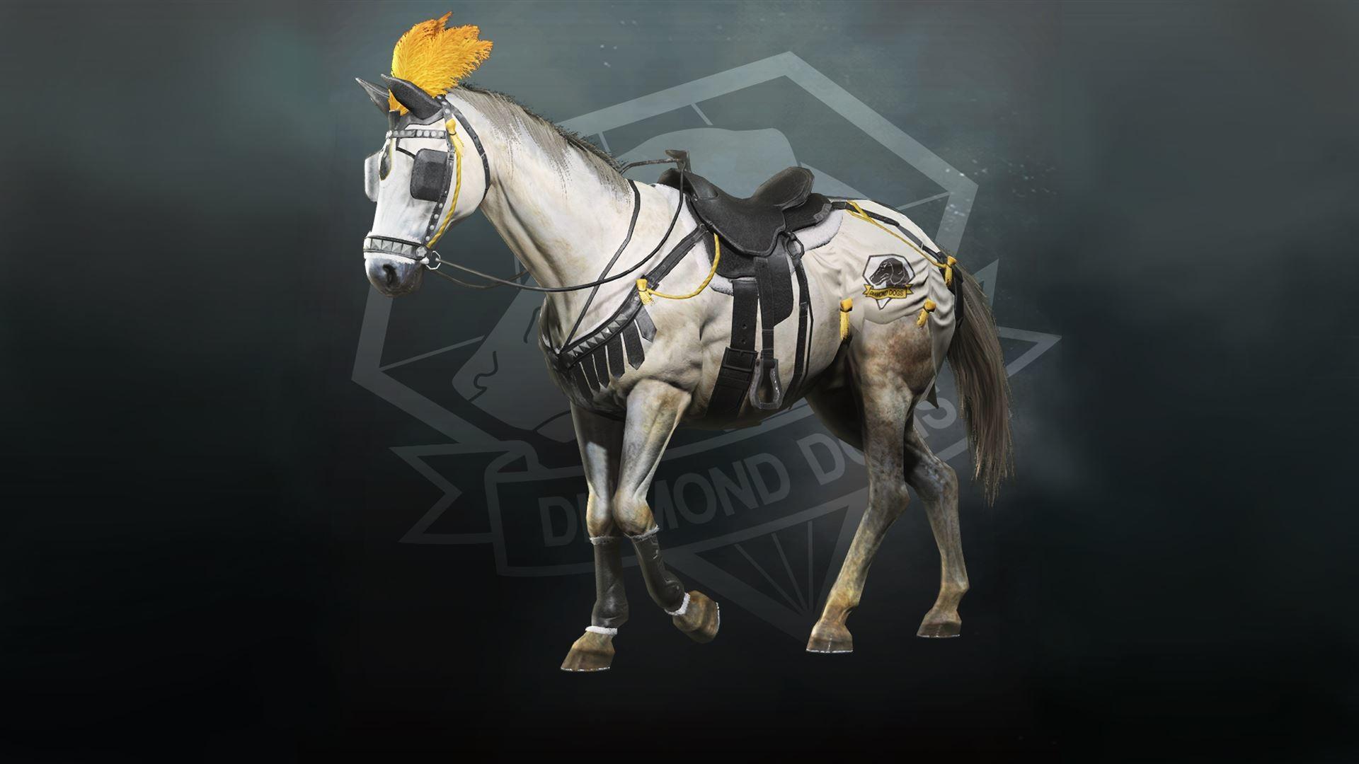 MGS 5 horse armour parade tack