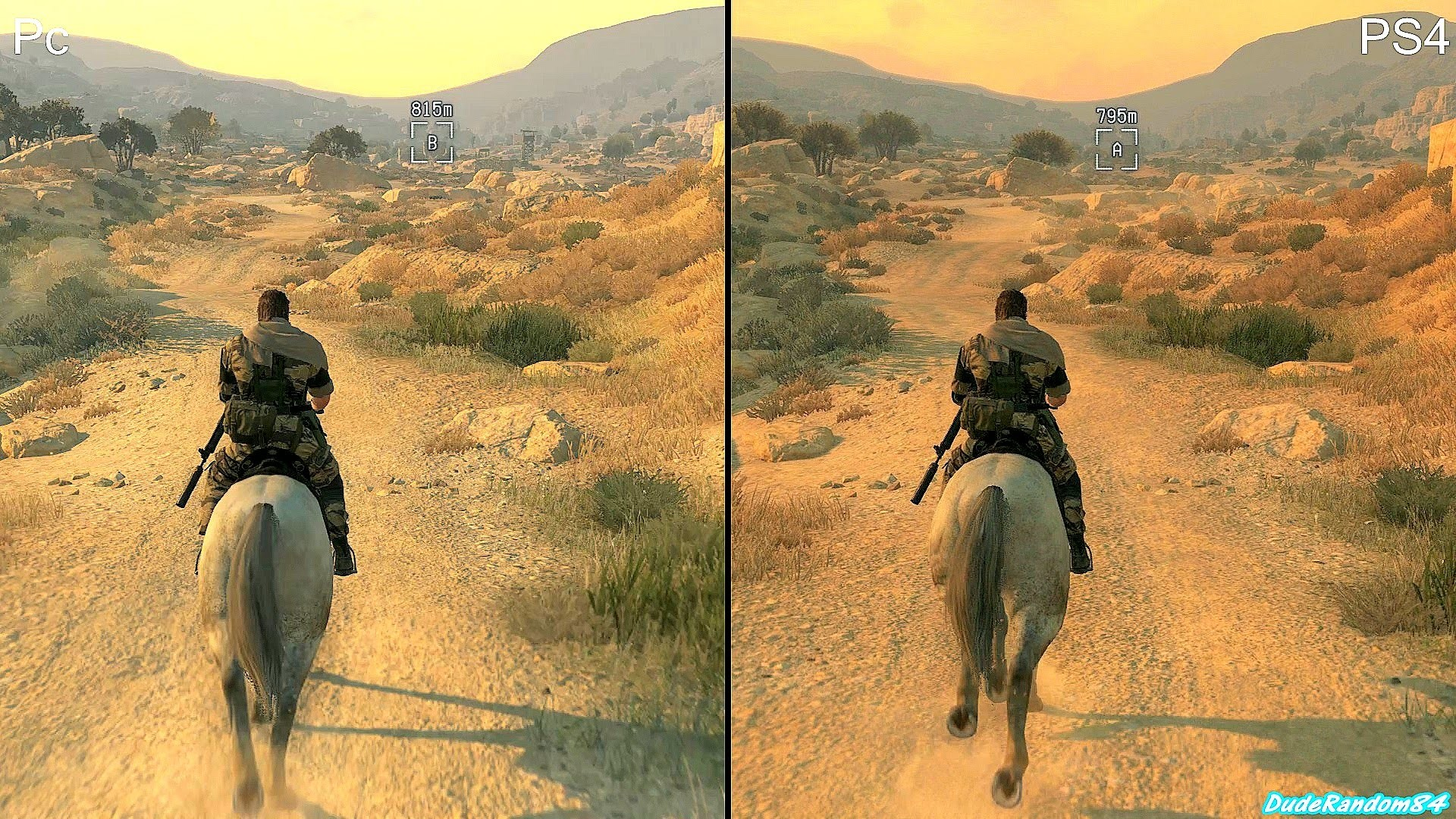 Metal Gear Solid 5 The Phantom Pain PS4 Vs Pc Graphics Comparison – YouTube